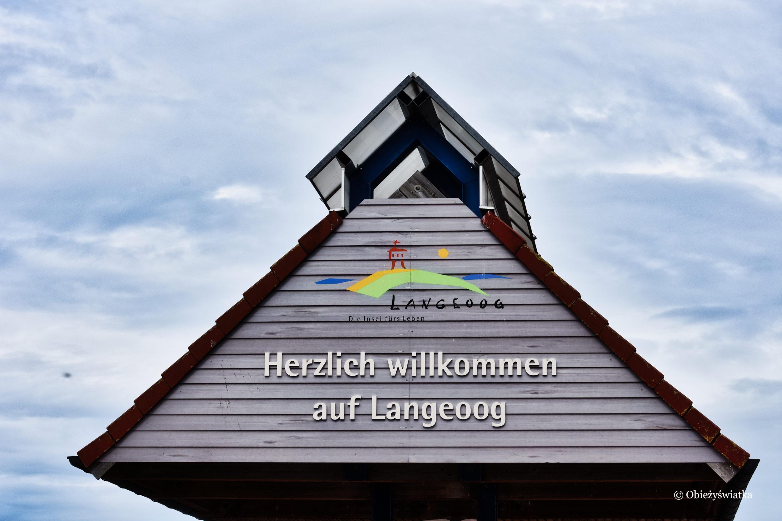 Serdecznie witamy na Wyspie Langeoog, Niemcy