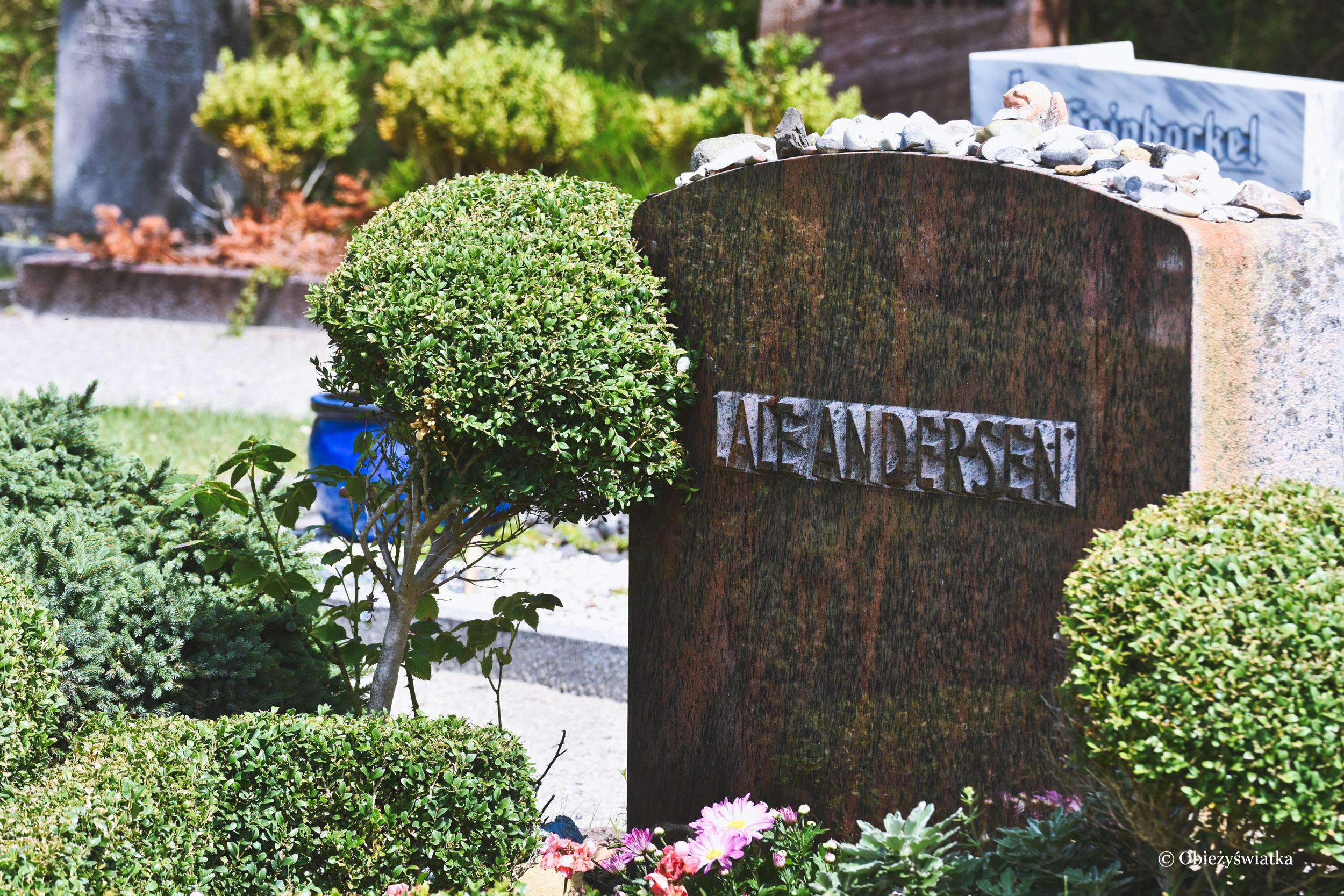Grób Lale Andersen na Wyspie Langeoog