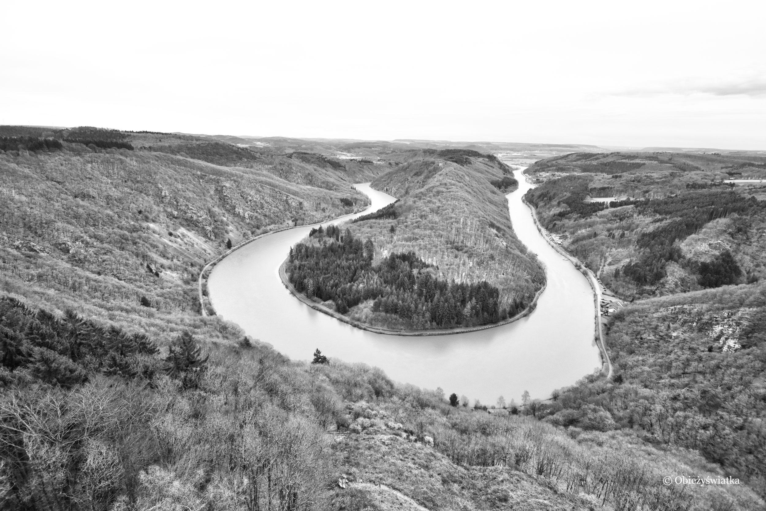 Zakole rzeki Saary, Niemcy