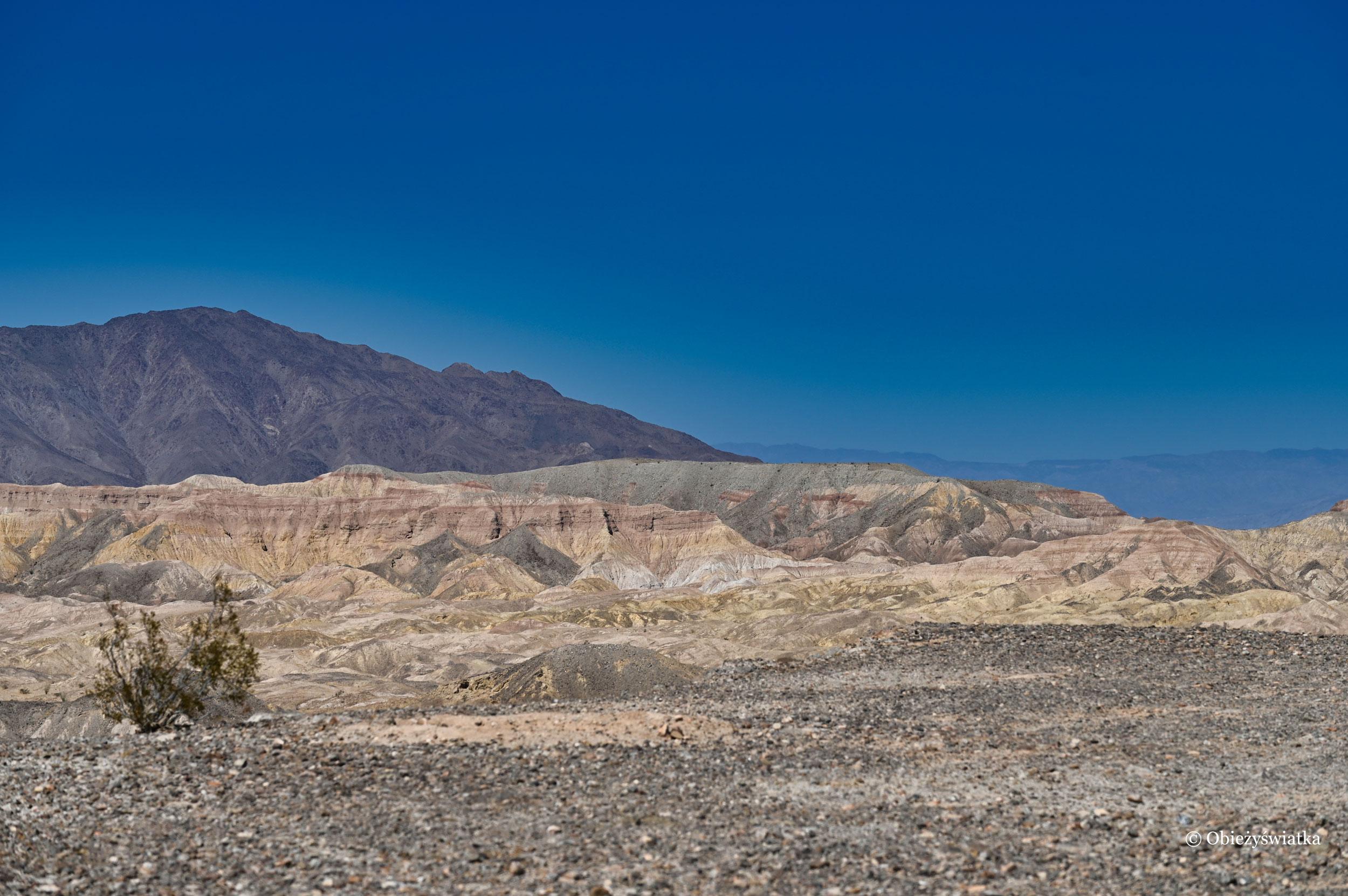 Pustynnie i górzysto - Anza Borrego Desert State Park, Kalifornia