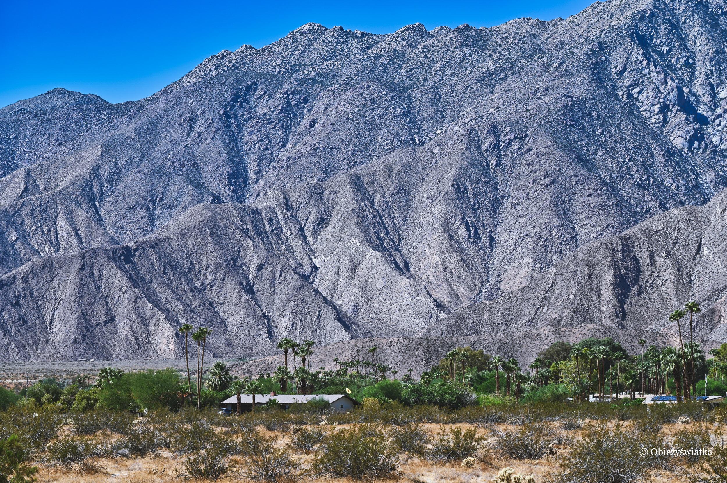 Mieszkając w otoczeniu gór i palm - Borrego Springs