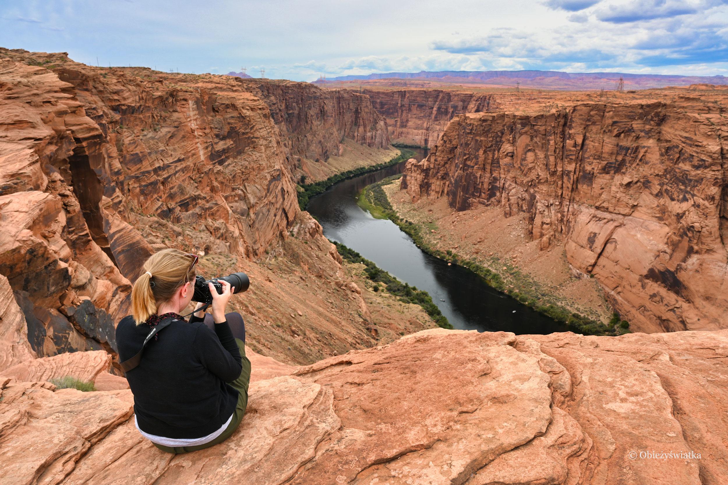 Obieżyświatka and Colorado River :)