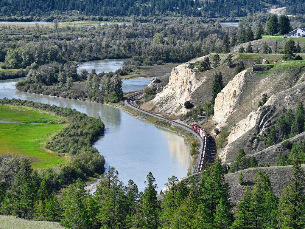 Rzeka Kolumbia w Kanadzie