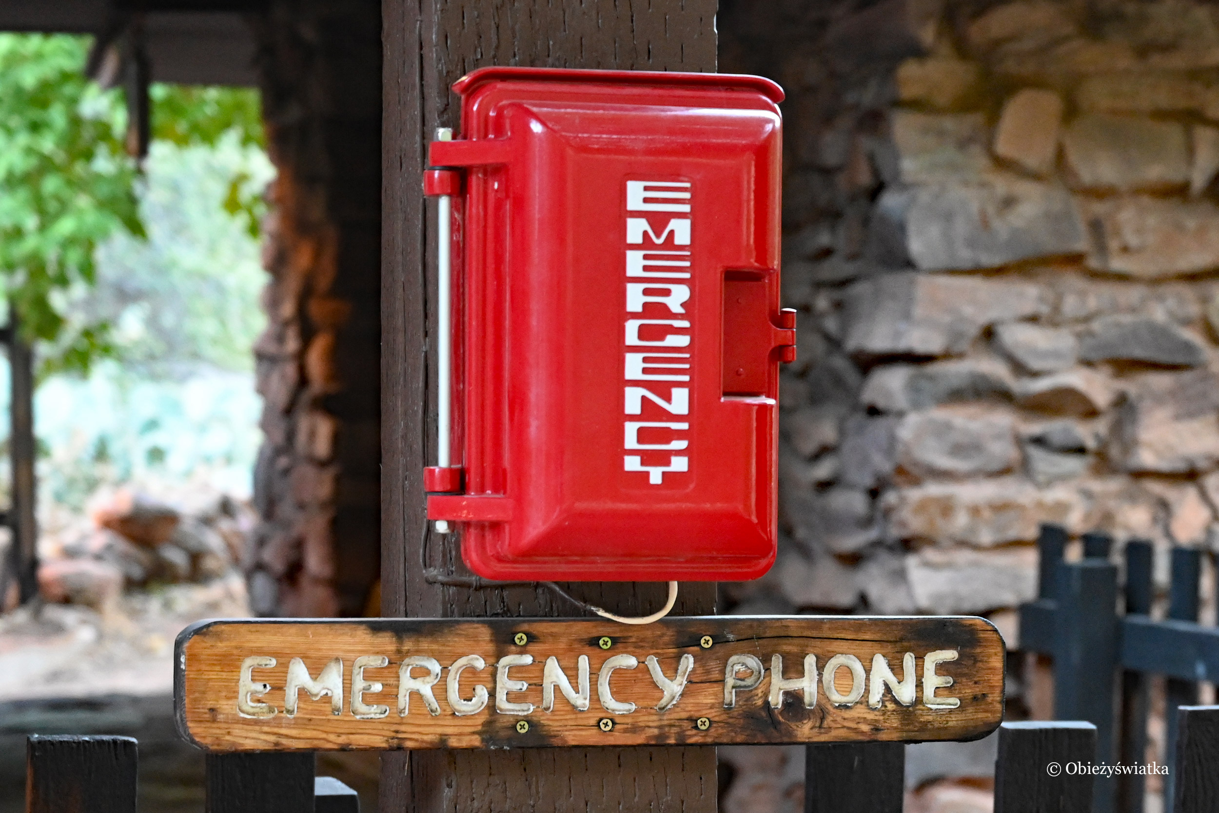 Emergency phone, USA