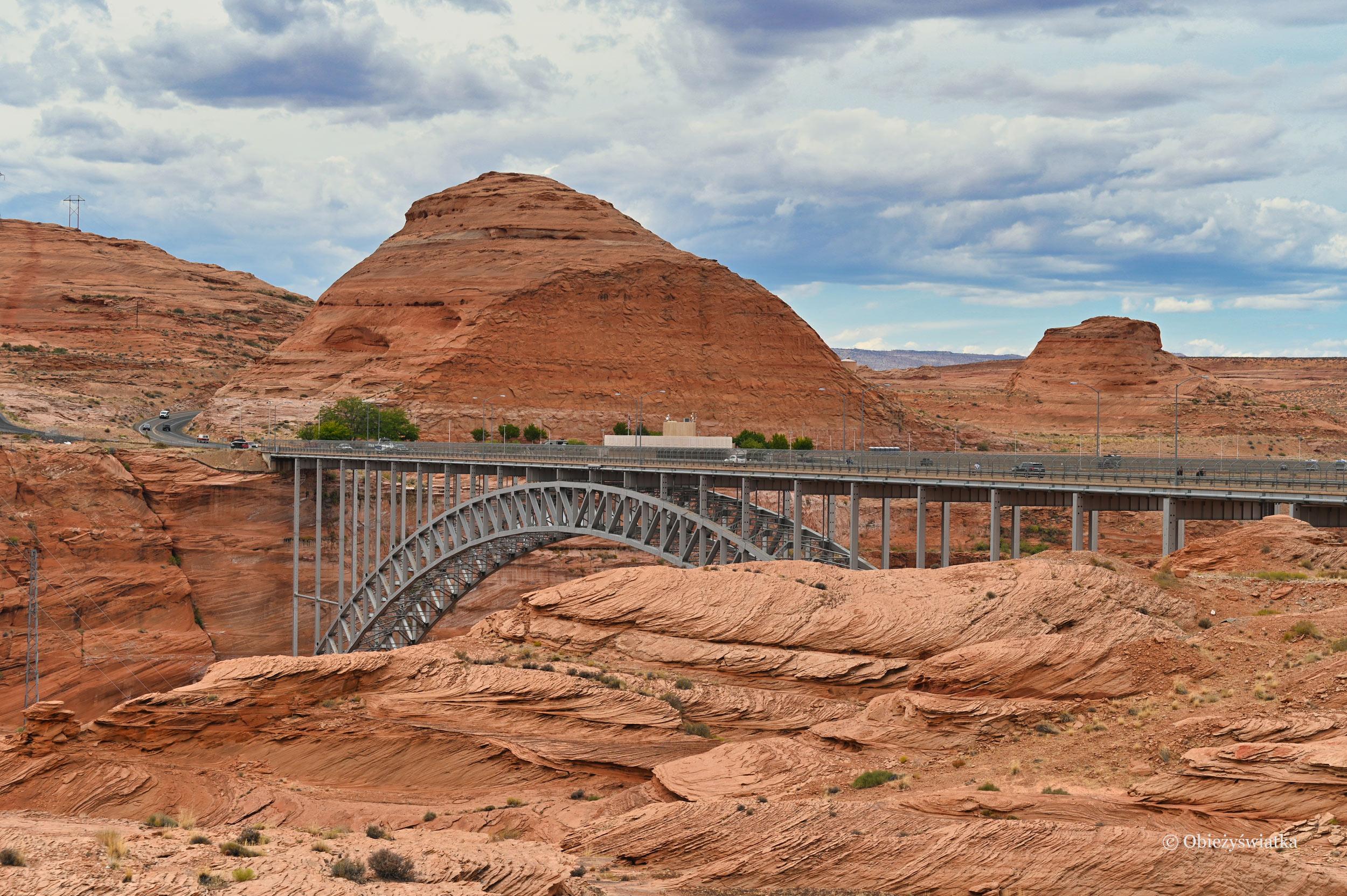 Most Glen Canyon Dam Bridge