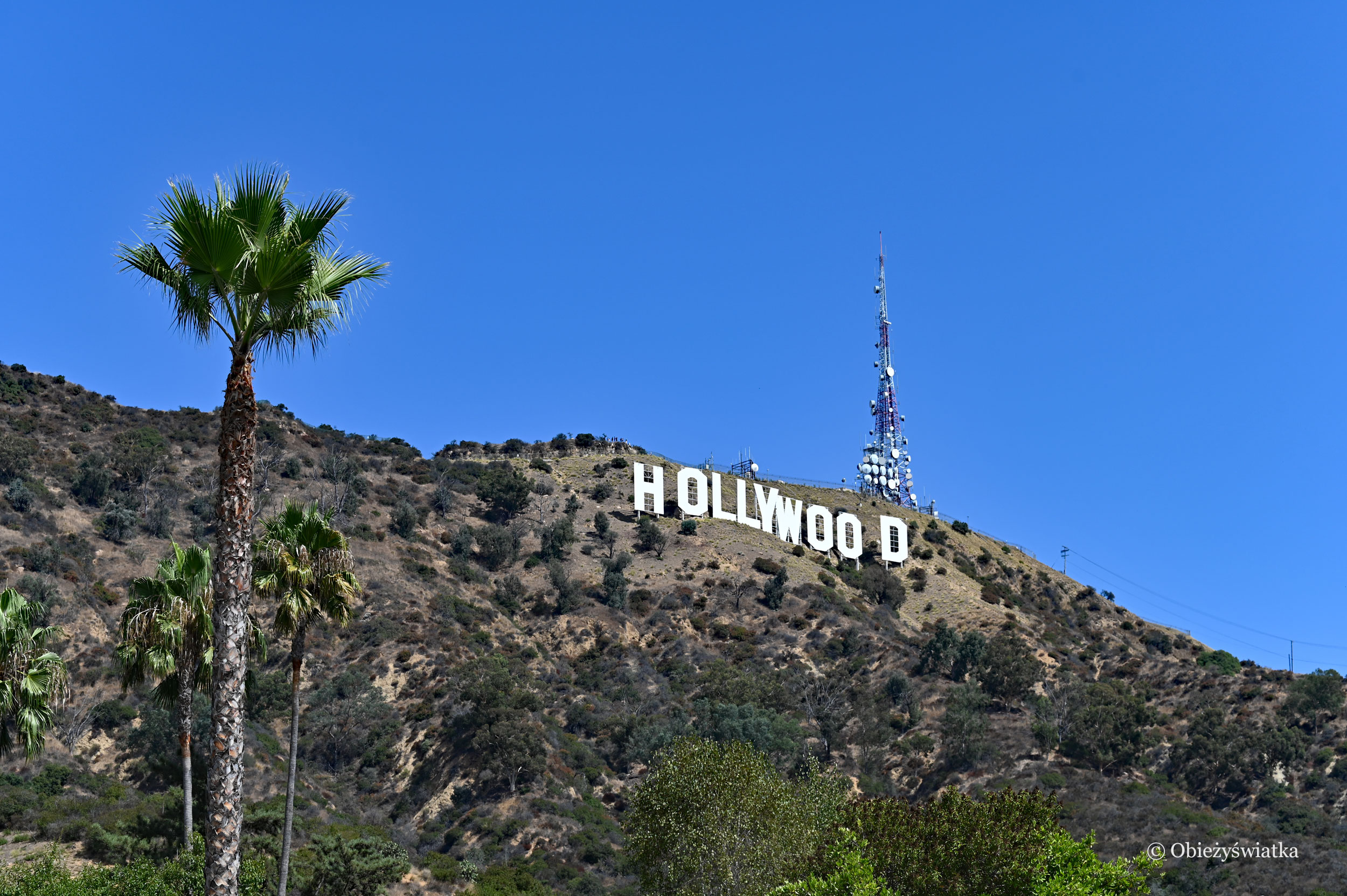 Hollywood Sign and Mount Lee, Hollywood Hills