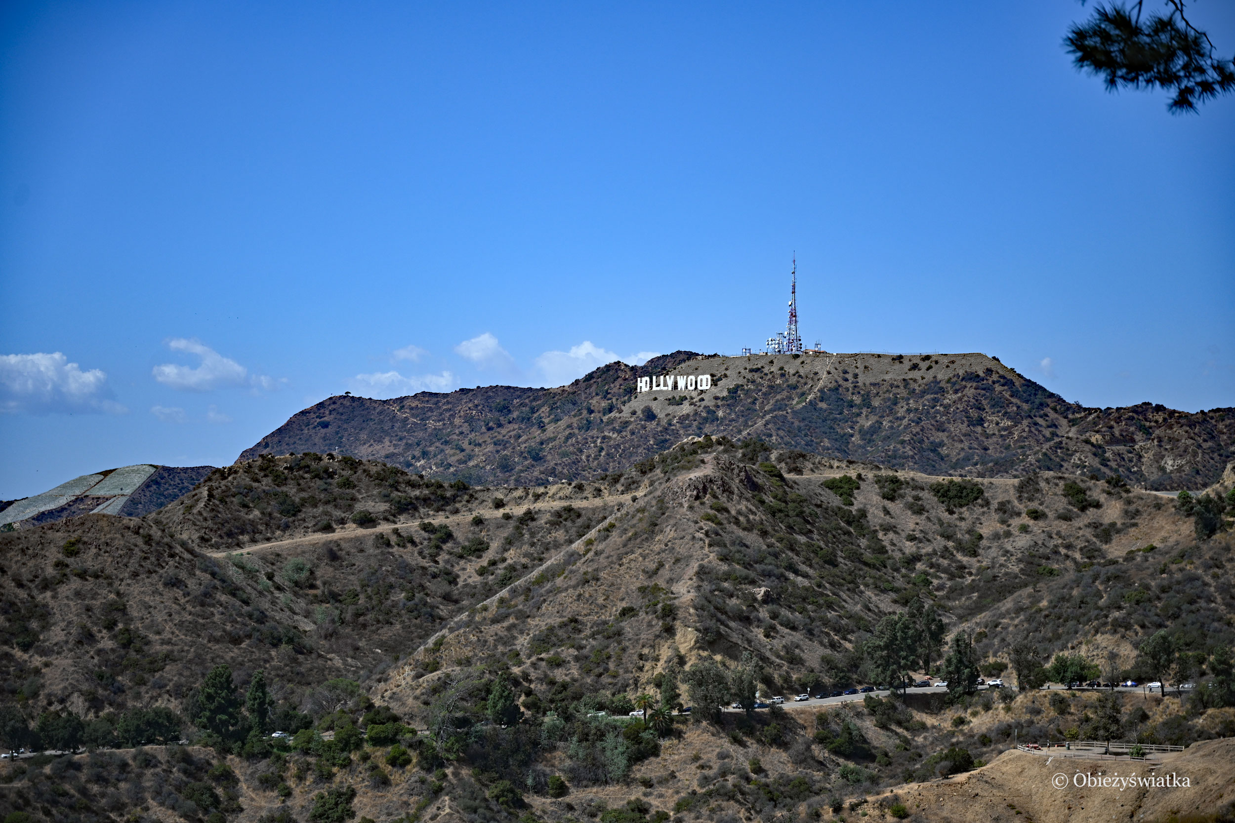 Santa Monica Mountains, Hollywood Hills i Hollywood Sign