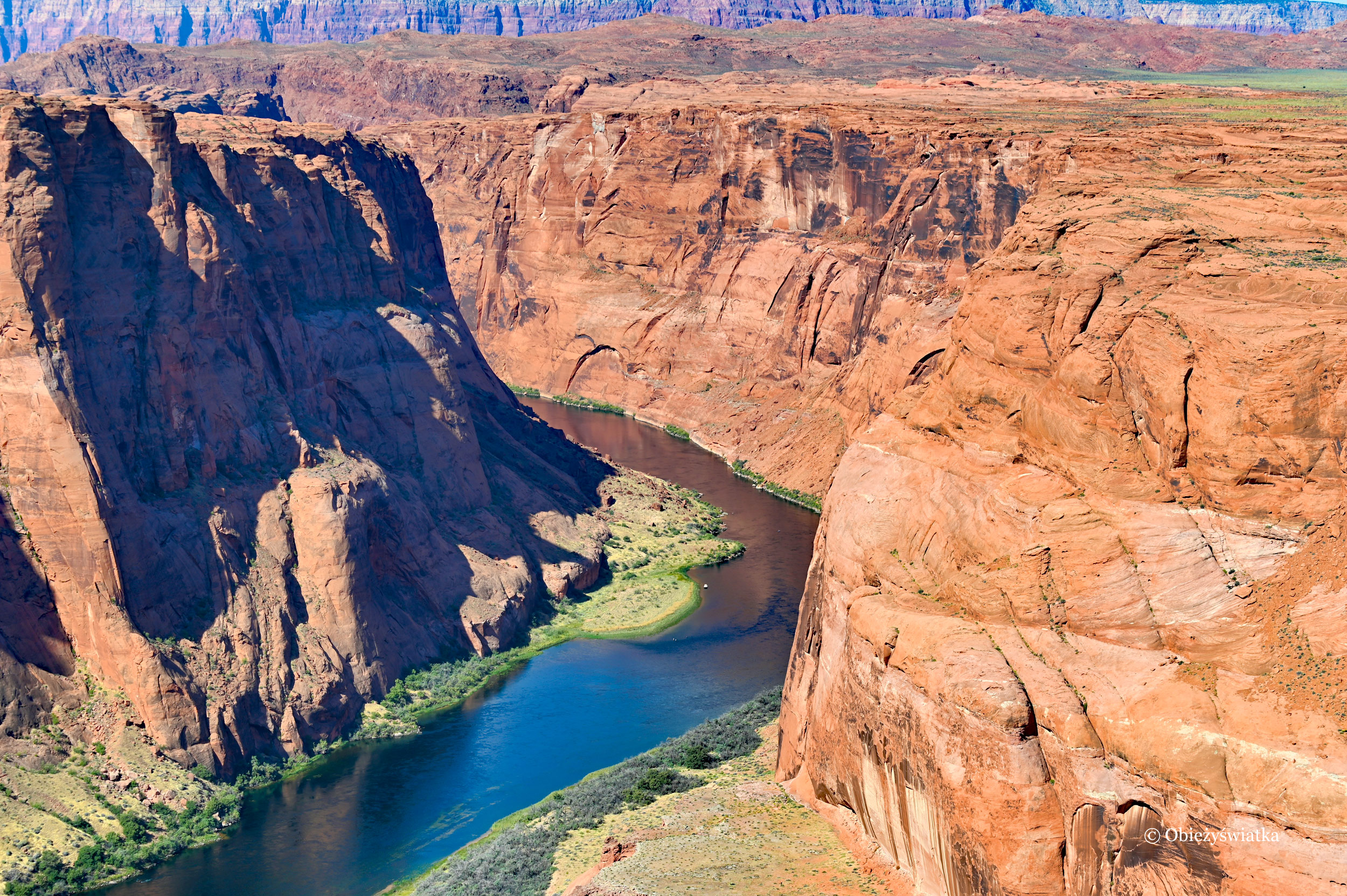 Rzeka Kolorado, Kanion Glen, Arizona