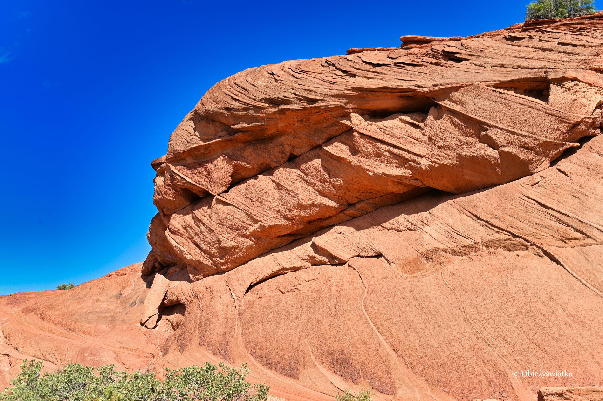 Wyrzeźbione skały, Horseshoe Bend, Arizona