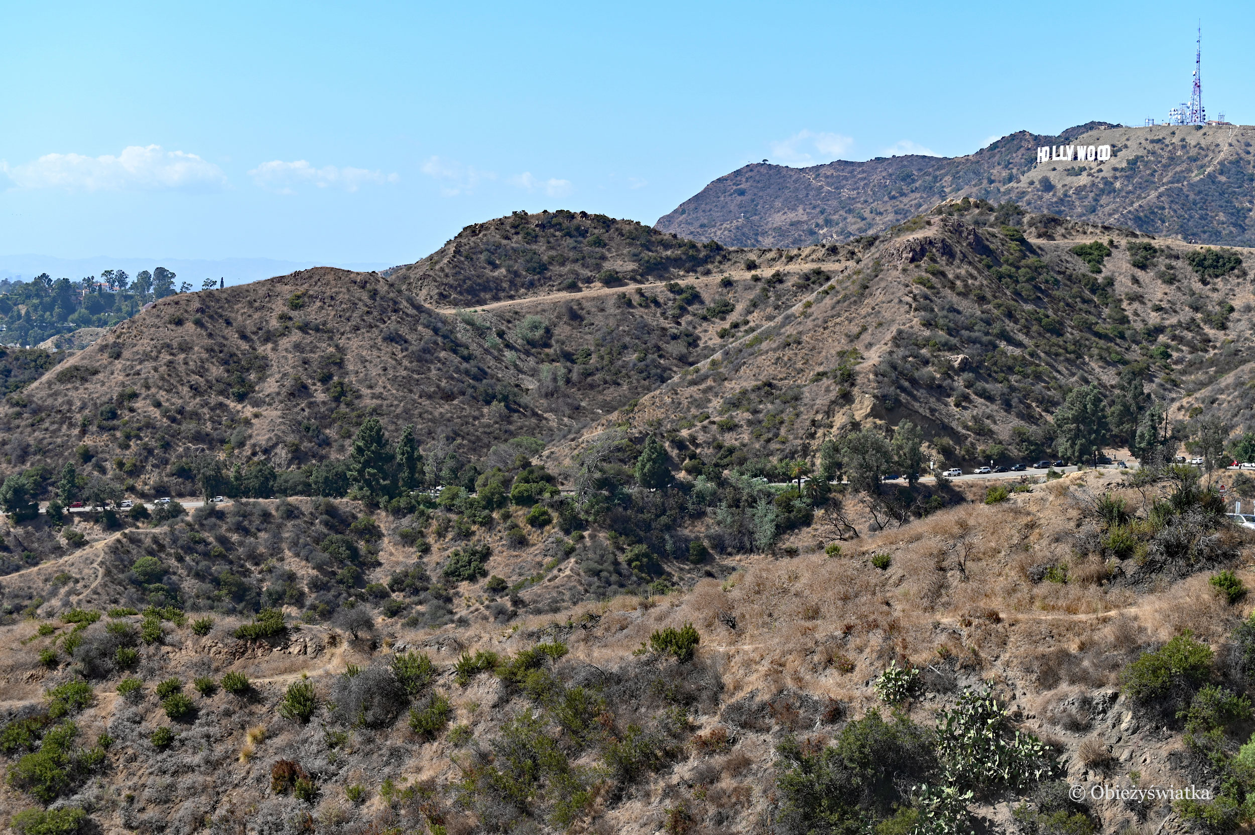 Santa Monica Mountains, Hollywood Hills, Hollywood Sign