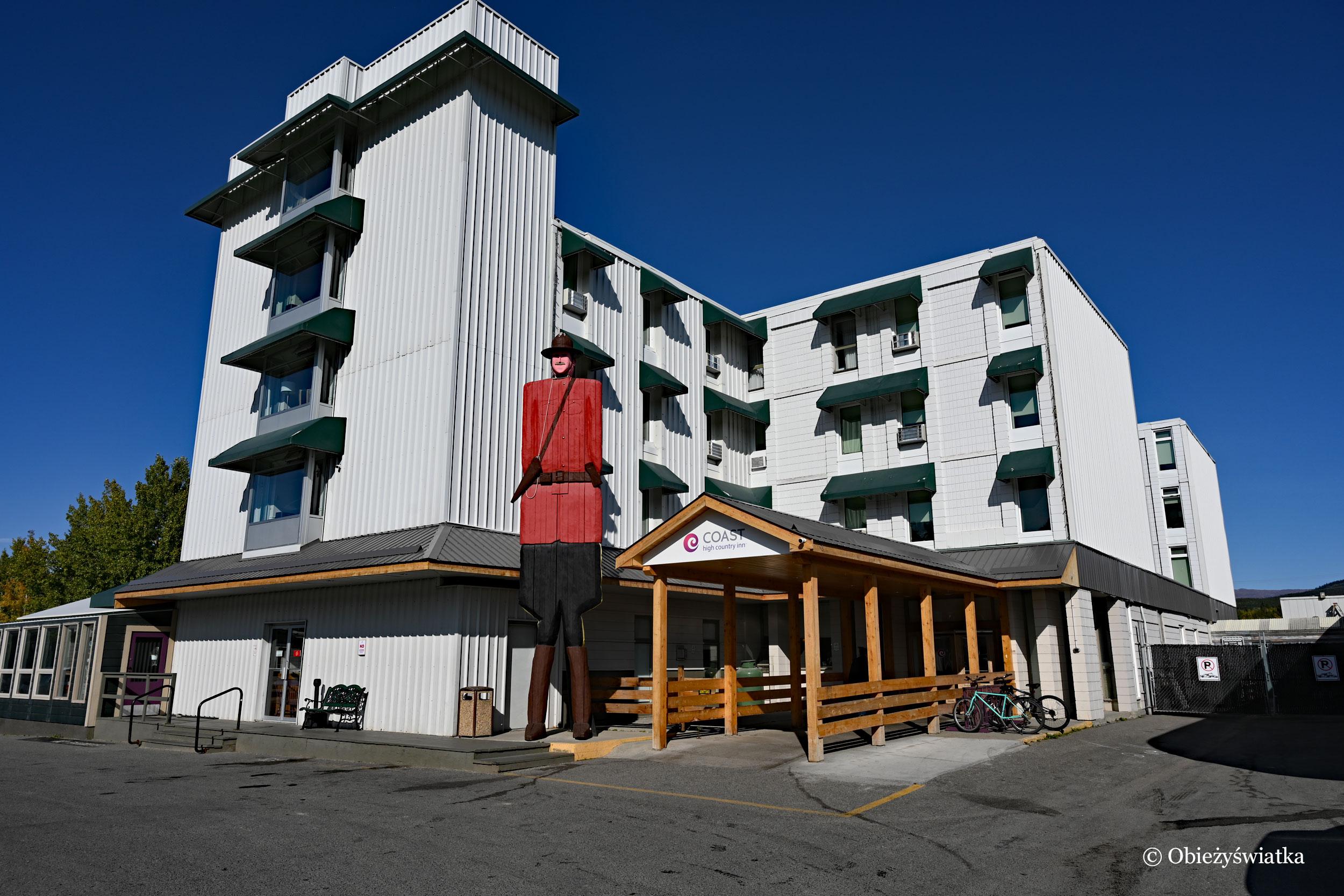 Nasz hotel w Whitehorse, Kanada