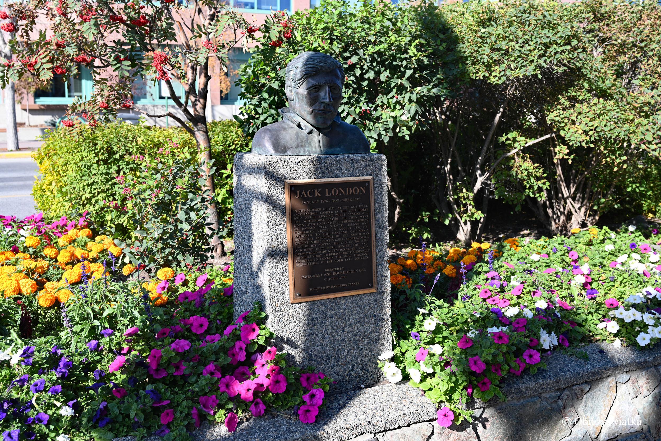 Jak Yukon, to nie może zabraknąć Jacka Londona, Whitehorse, Kanada