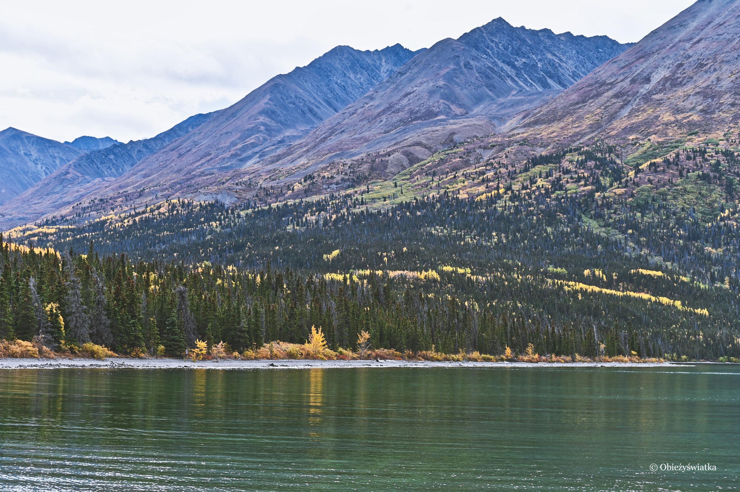 Krystaliczne wody i góry, Kluane, Kathleen Lake