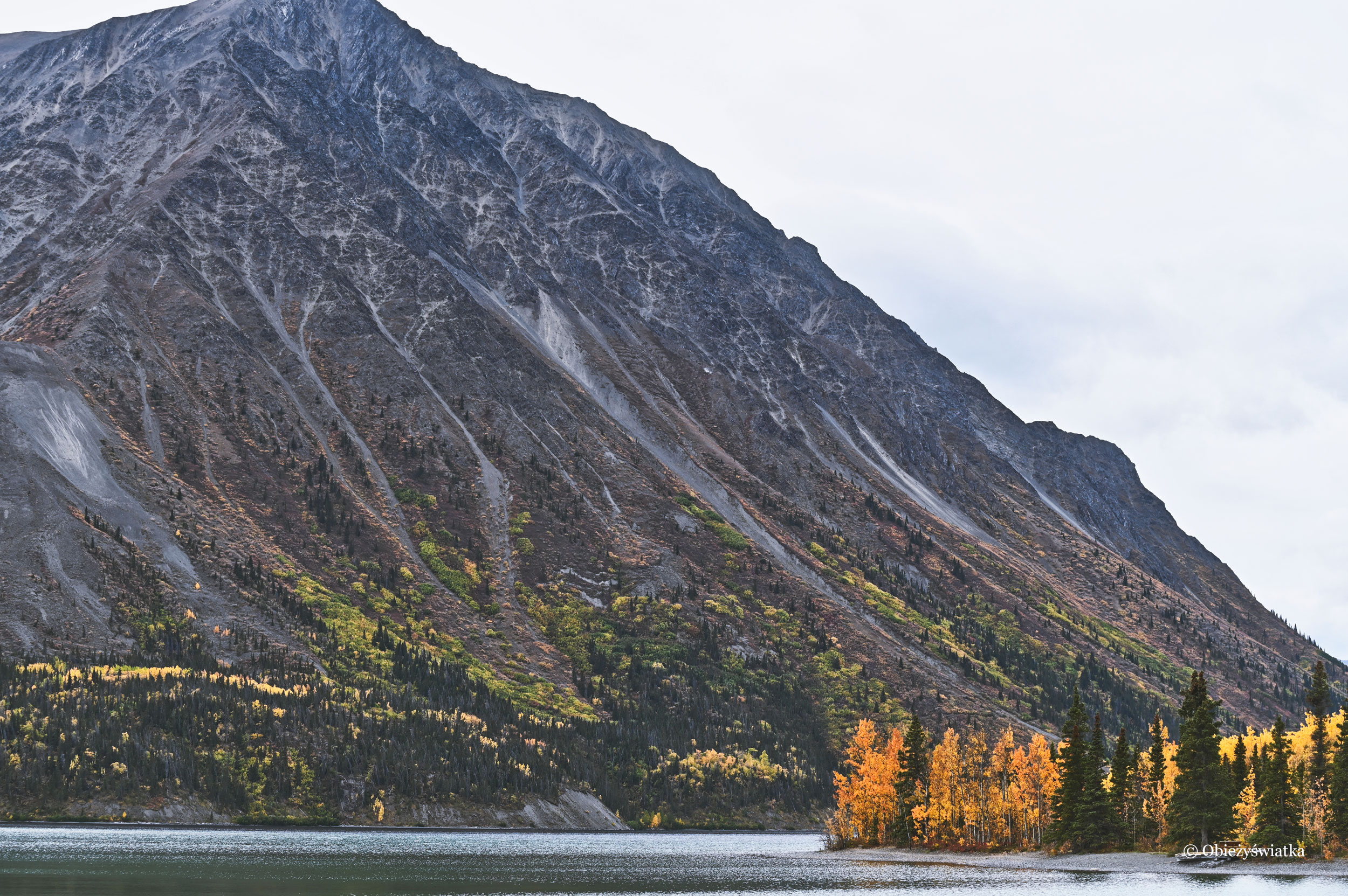 Kathleen Lake, Kluane National Park, Yukon