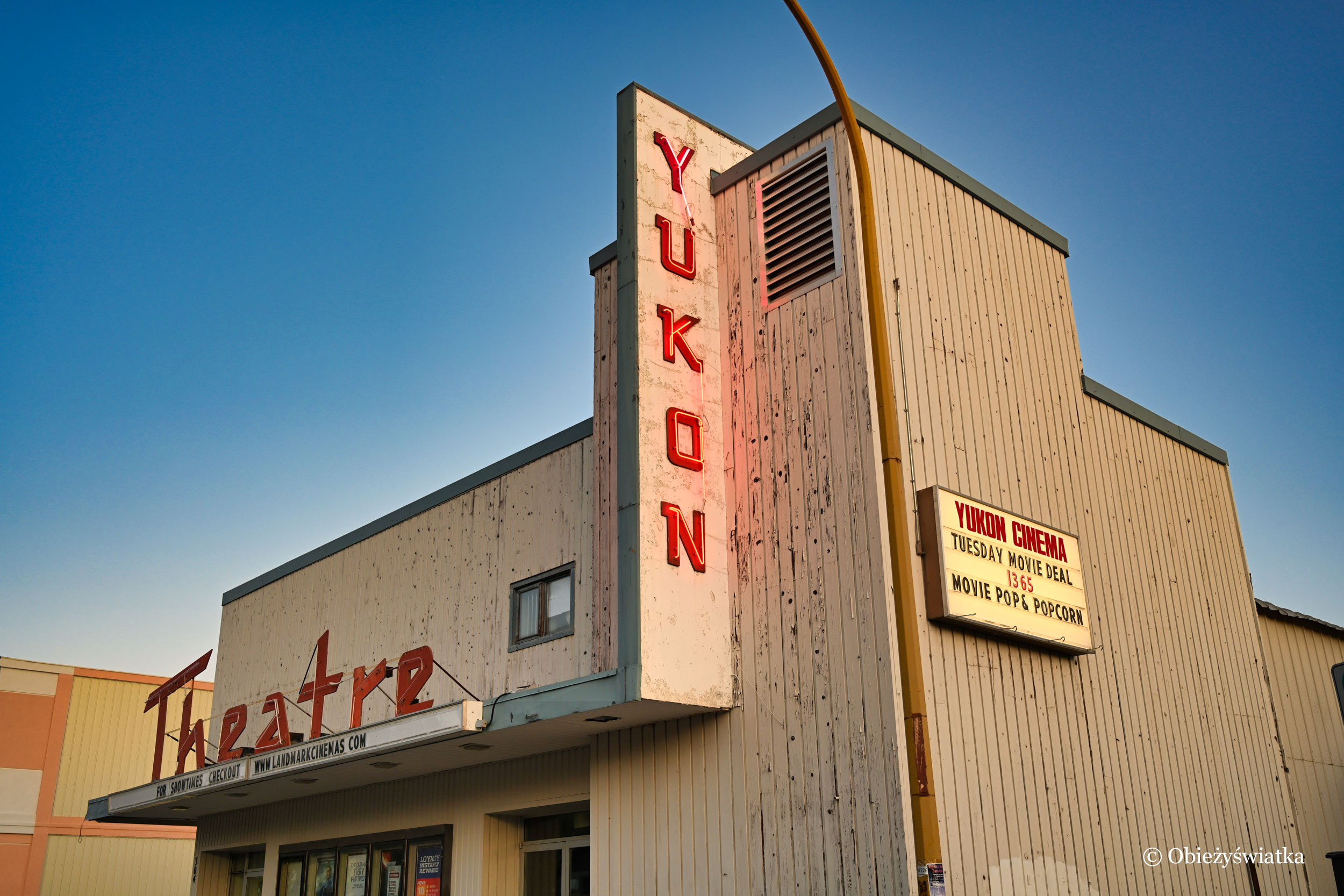 Kino Yukon, Whitehorse, Kanada