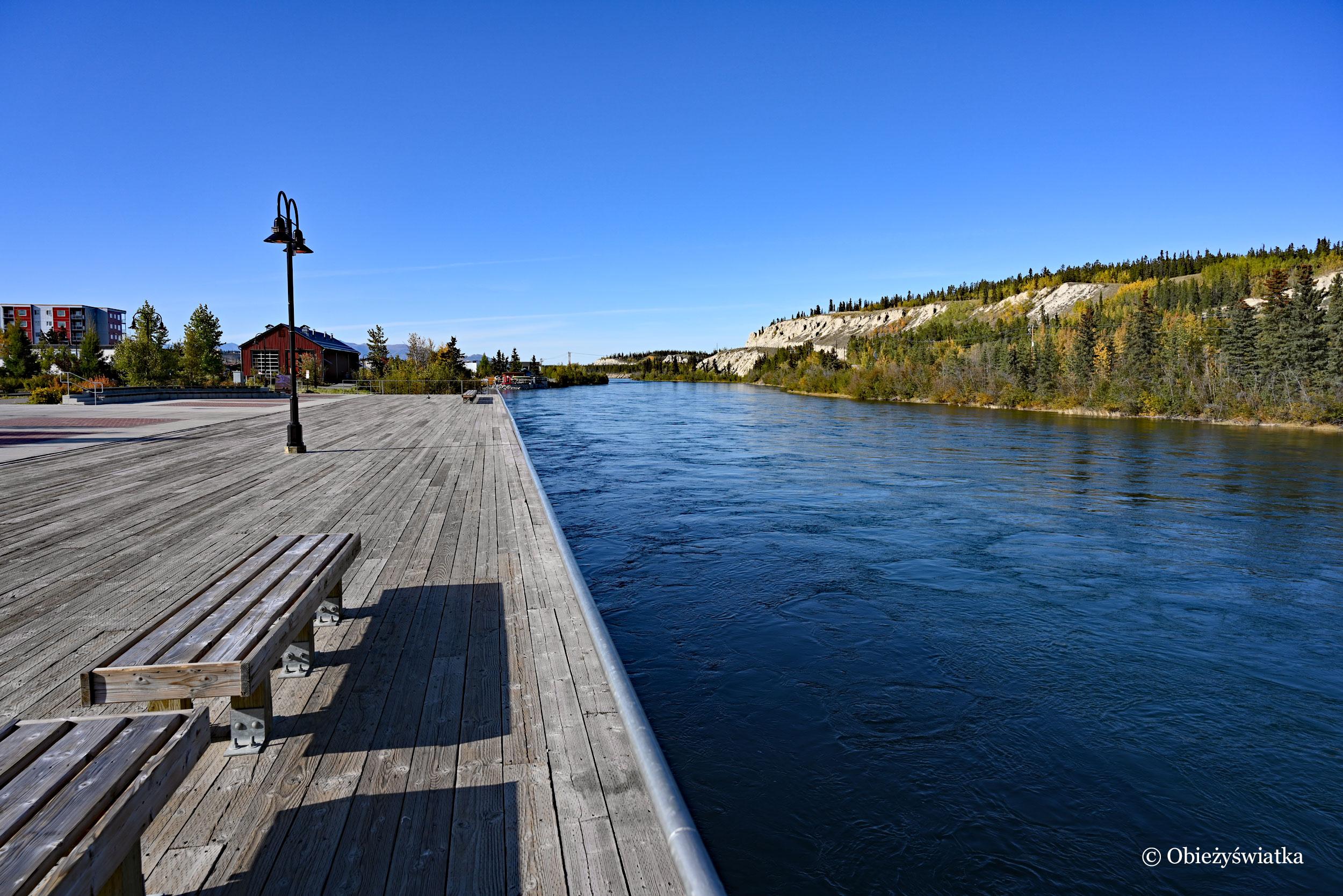 Promenada nad Yukonem, Whitehorse, Kanada
