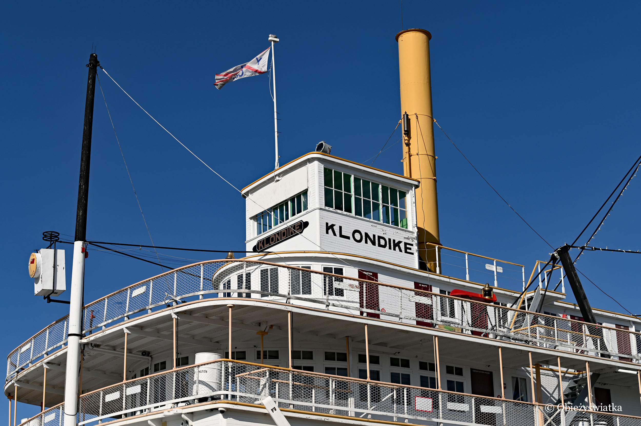Statek-muzeum: SS Klondike, Whitehorse, Kanada