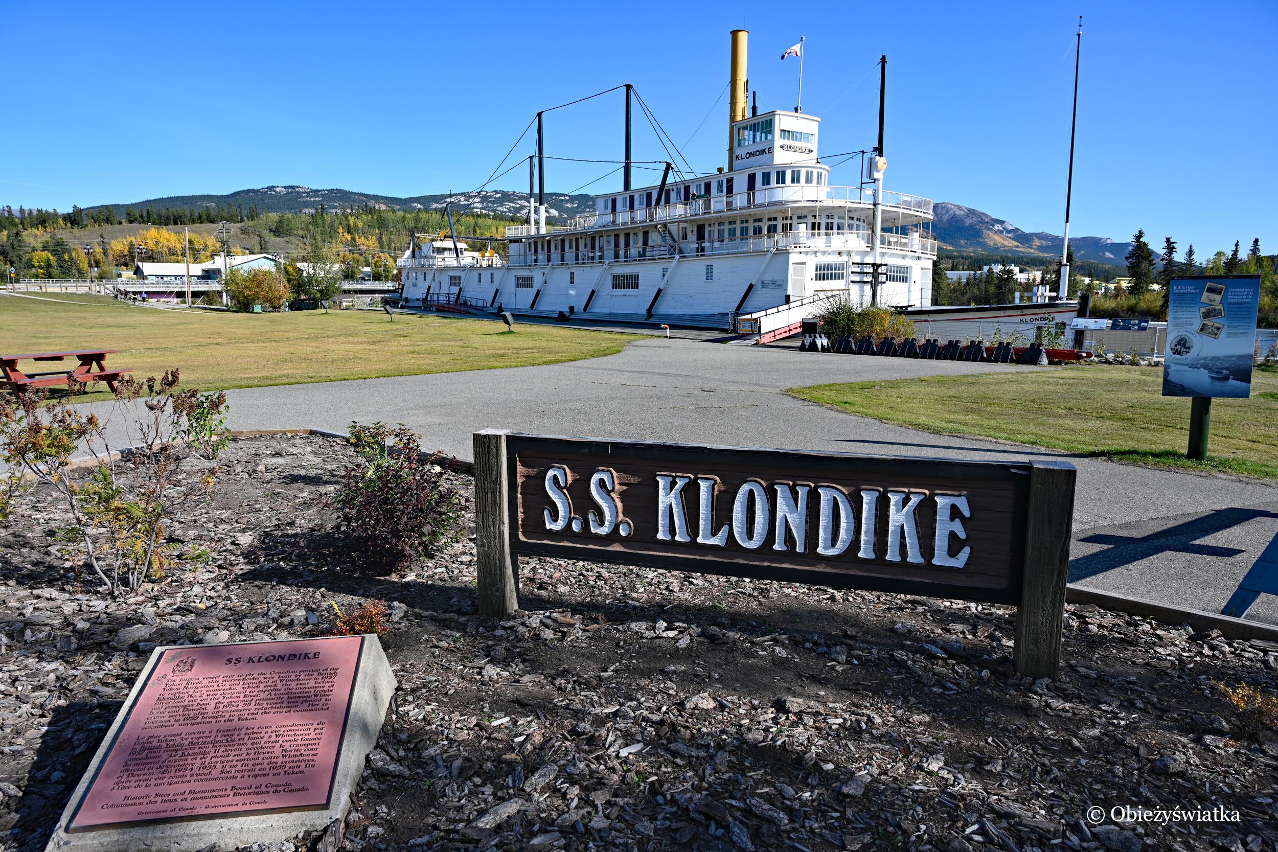 Whitehorse, SS Klondike, Kanada