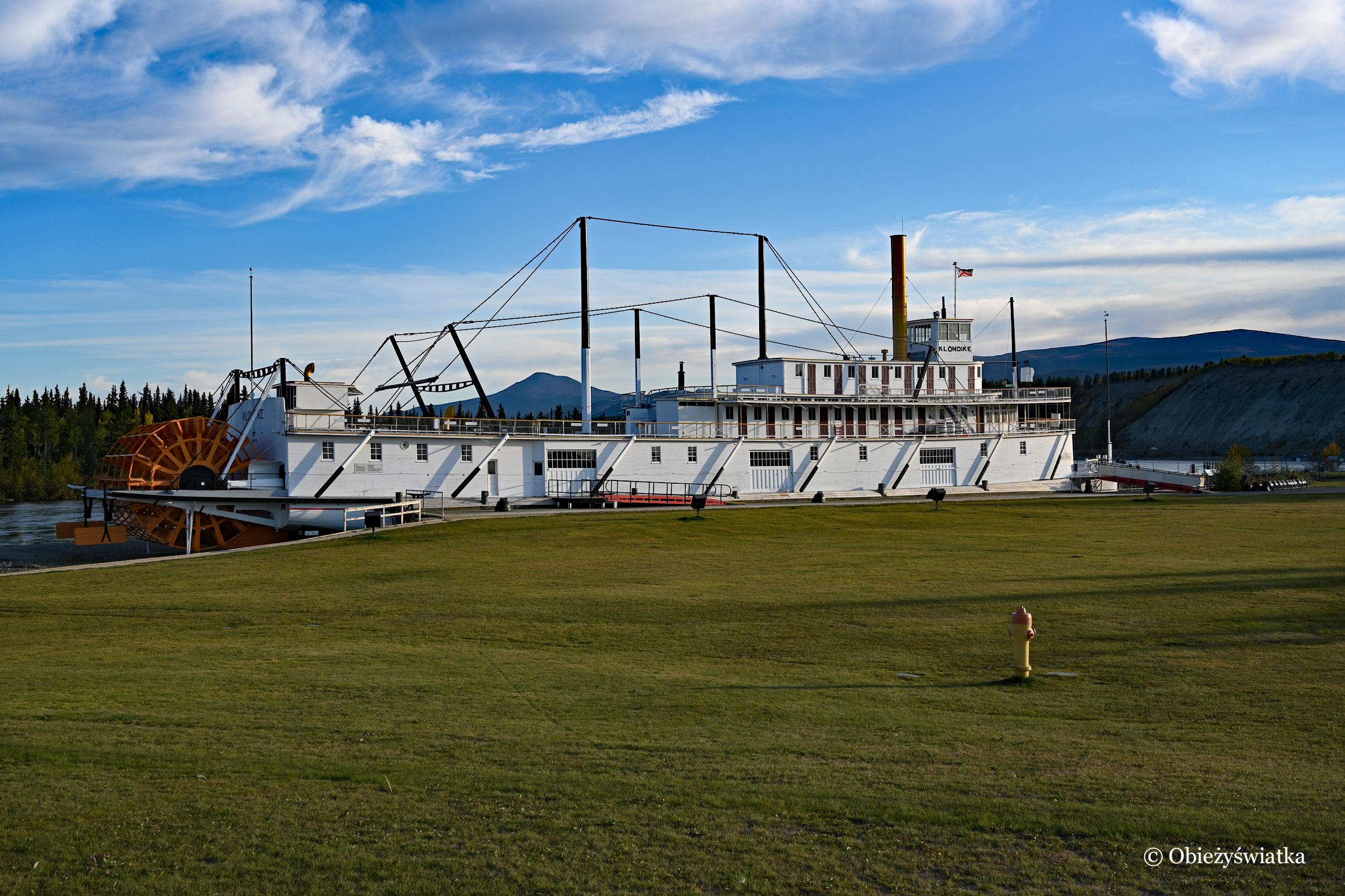 Zabytkowy SS Klondike: Whitehorse - Dawson City