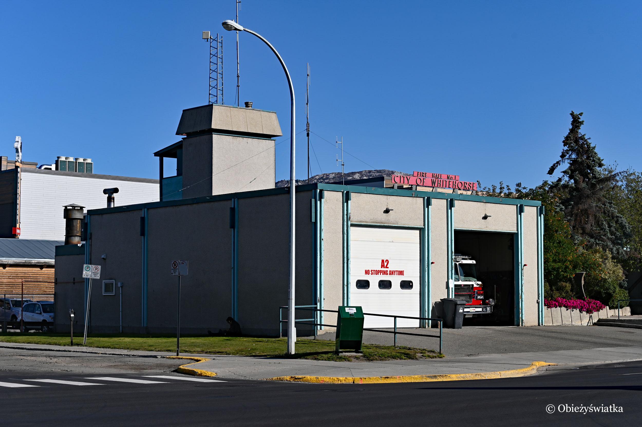 Straż pożarna, Whitehorse, Kanada