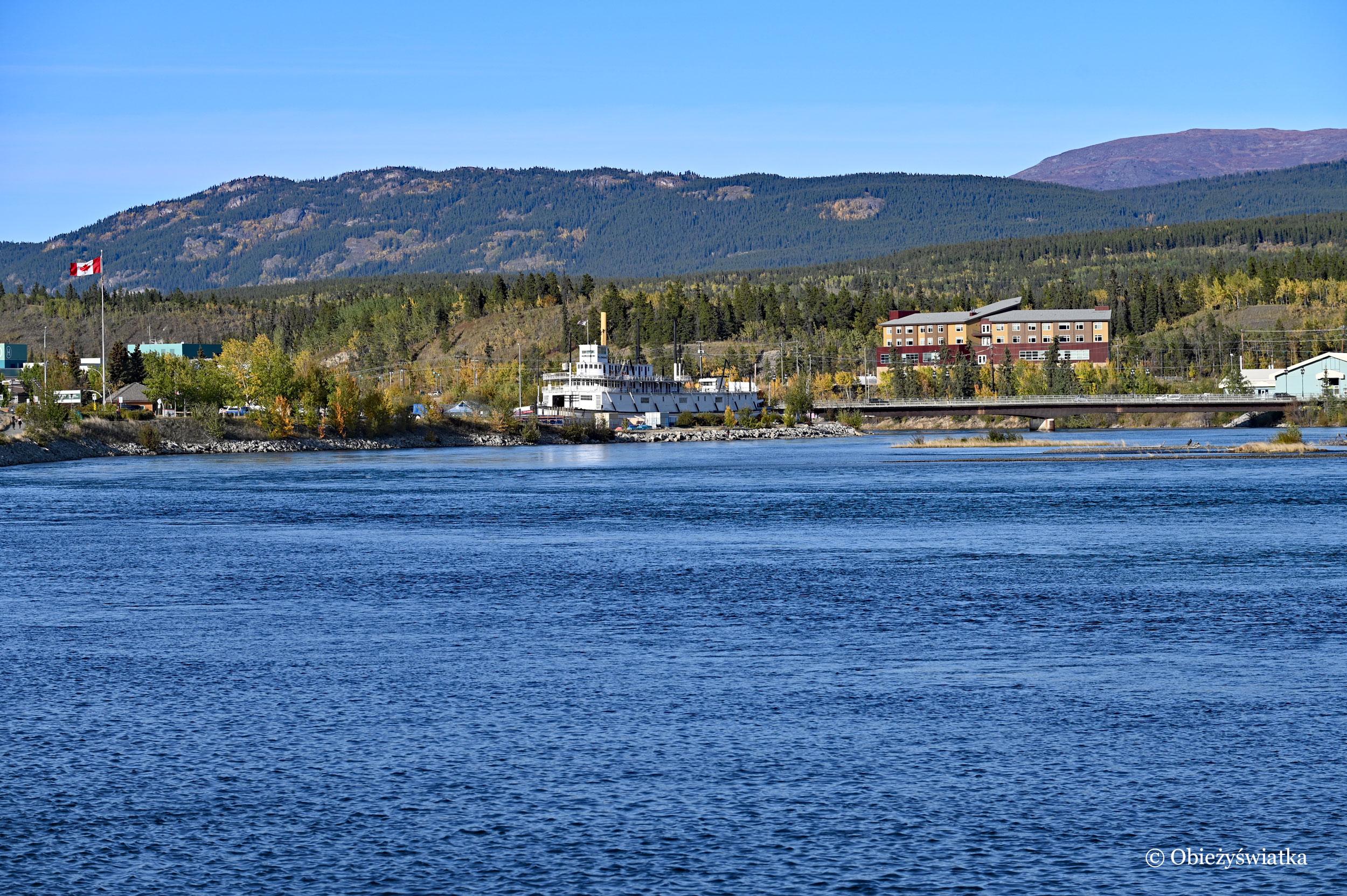 Yukon w mieście Whitehorse, Kanada