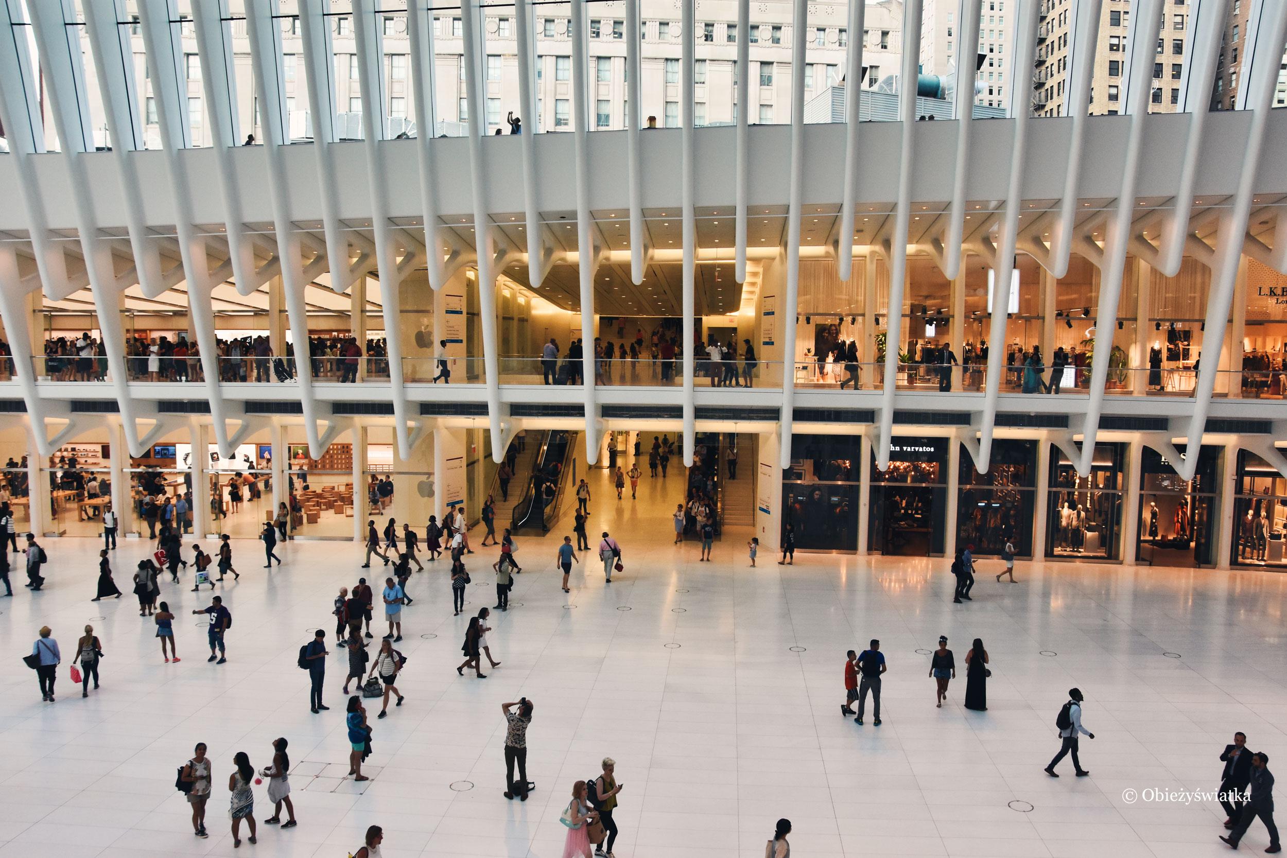 Hala Santiago Calatravy w Nowym Jorku, stacja metra