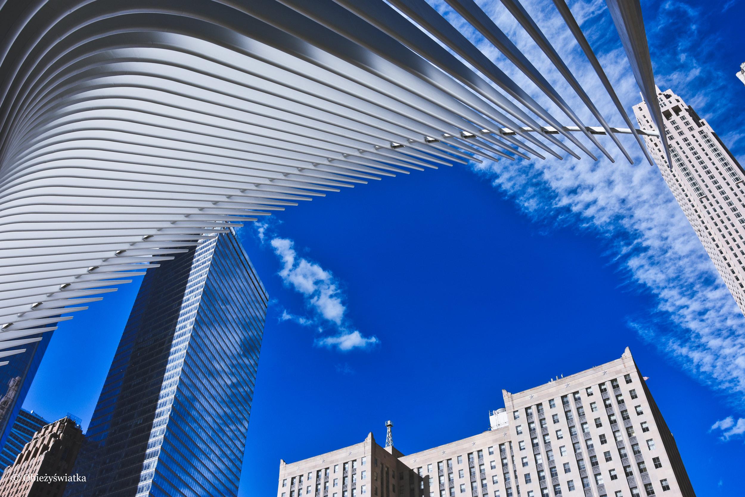 Nowy Jork i stacja metra projektu Calatravy