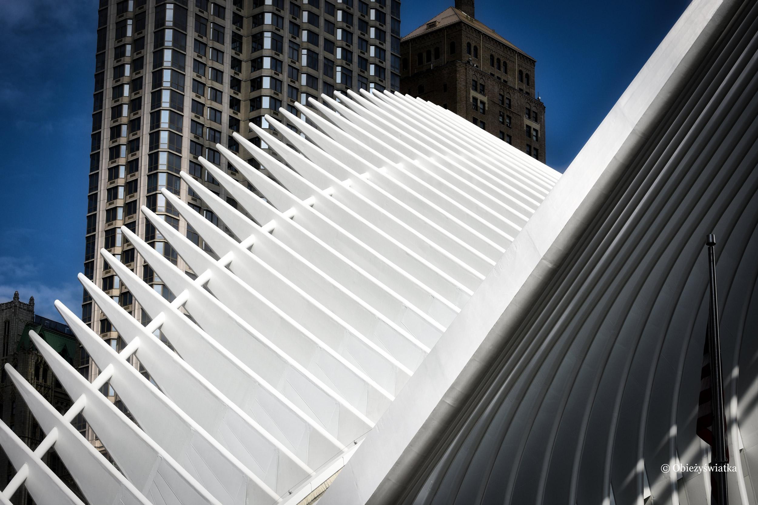 Biel.... - stacja metra Calatravy, NYC