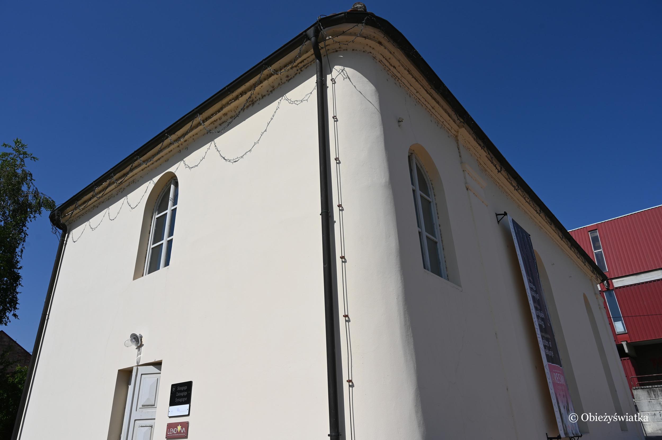 Budynek synagogi w Lendavie