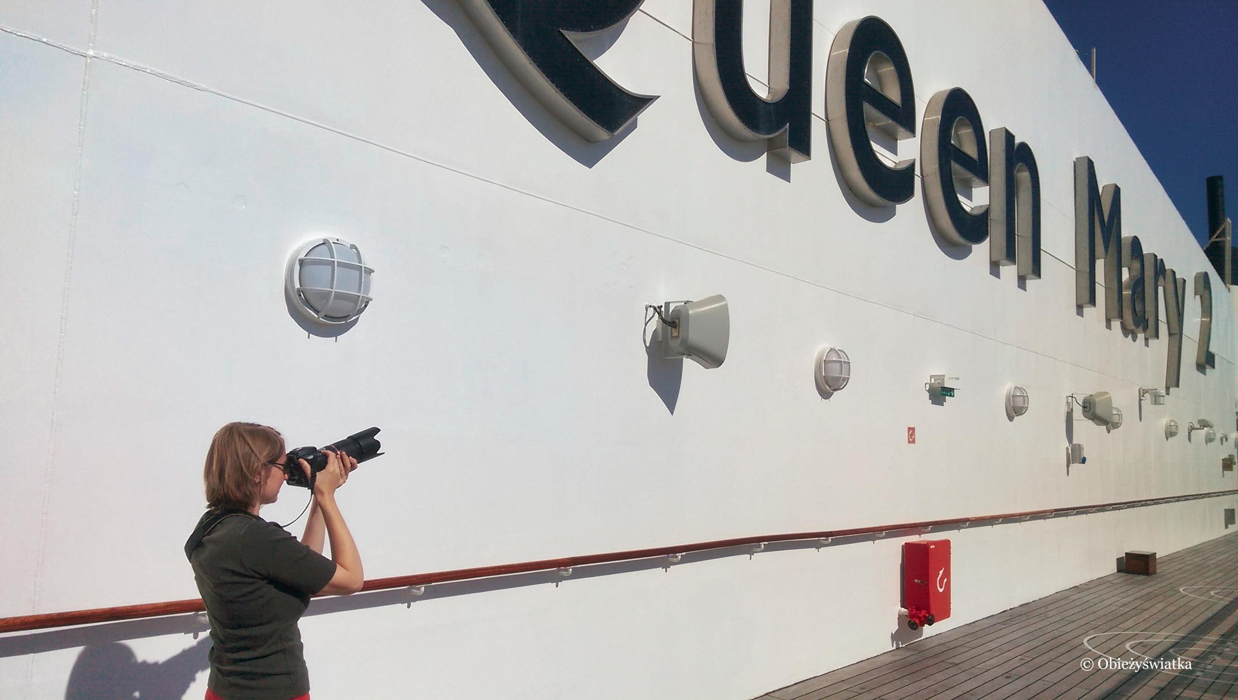 2016 - Na pokładzie wspaniałego liniowca transatlantyckiego Queen Mary 2