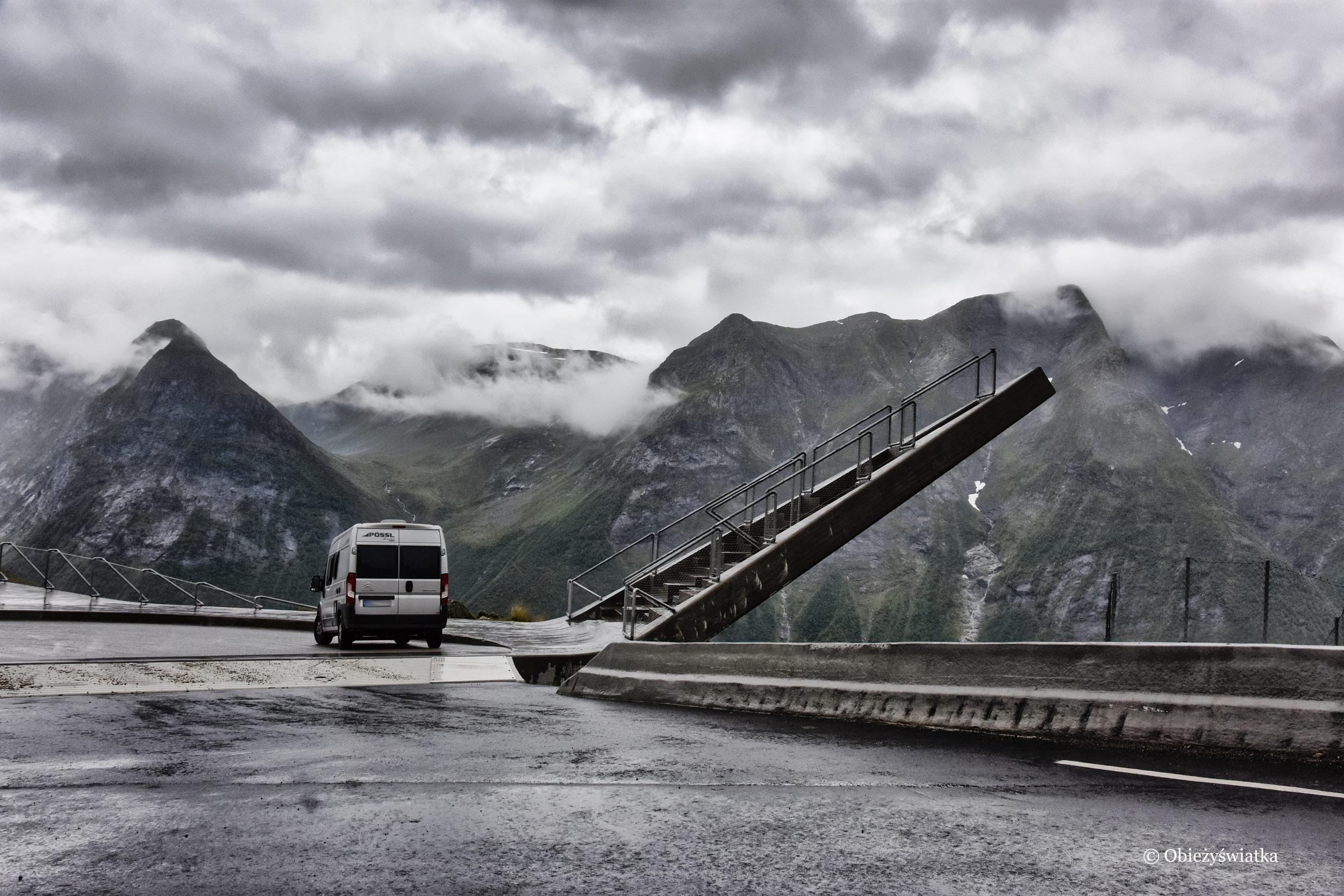 Kamperem w przepięknej Norwegii