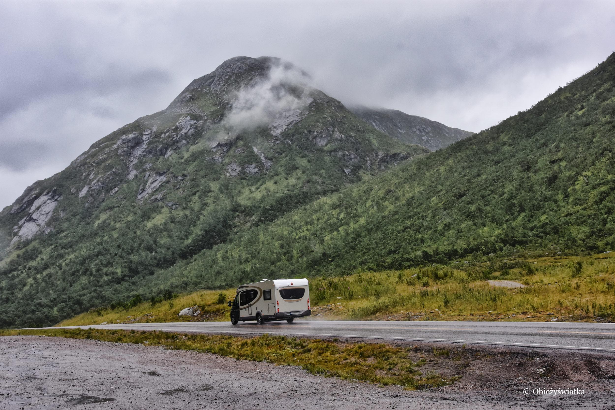 Podróżując kamperem przez Norwegię