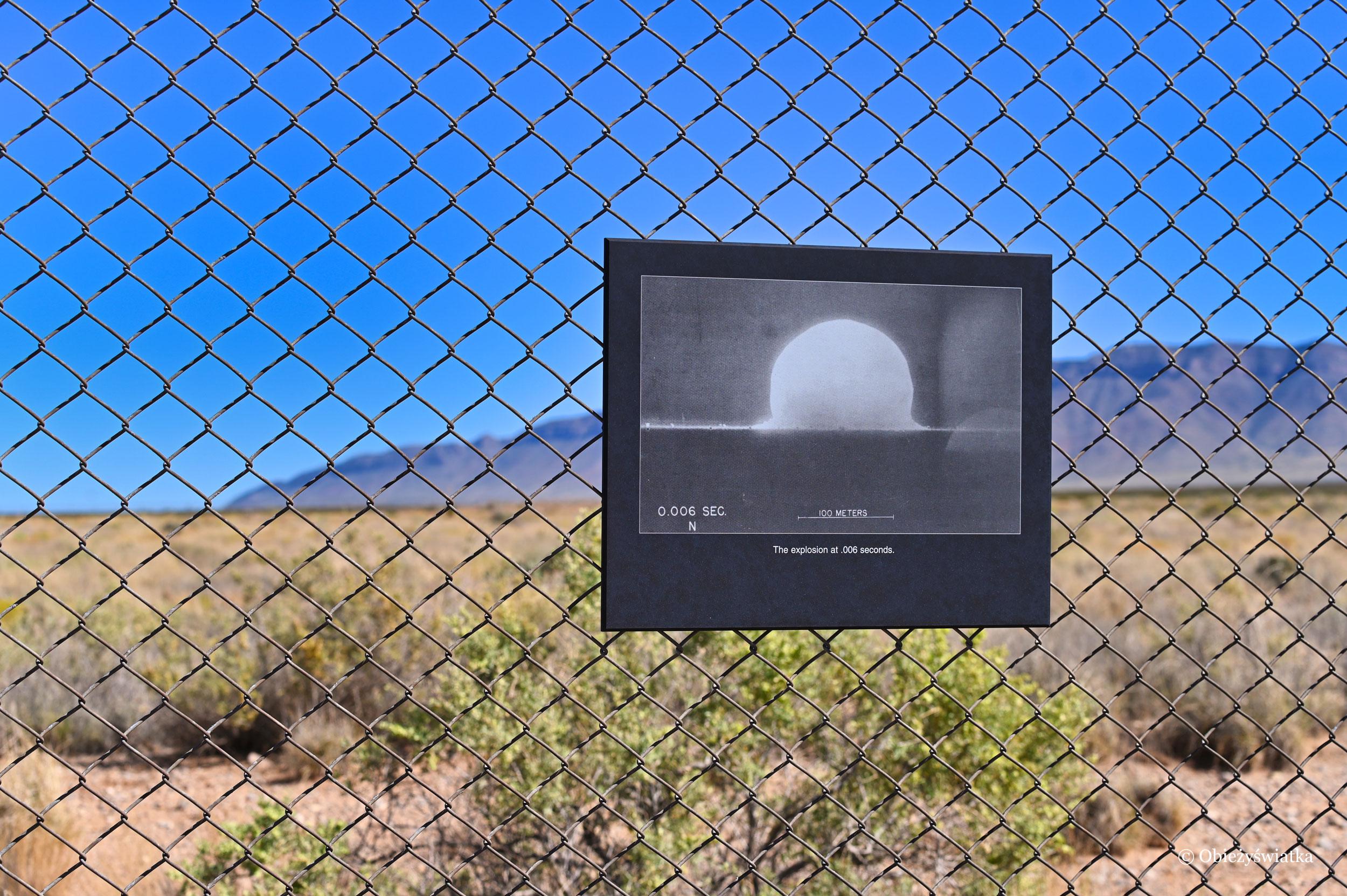 Strefa 0, Trinity Test Site, Nowy Meksyk