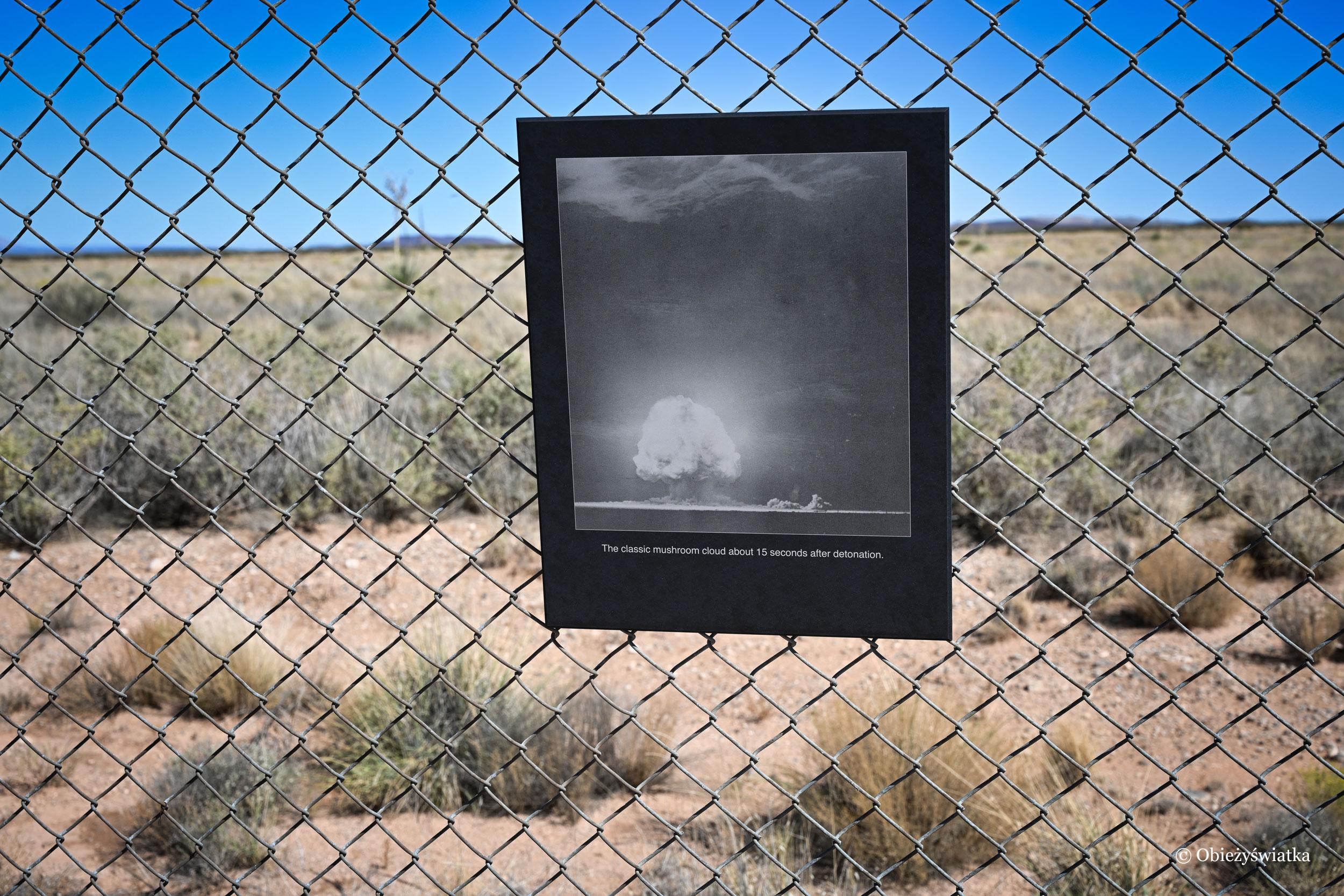 Strefa 0, Trinity Test Site, USA