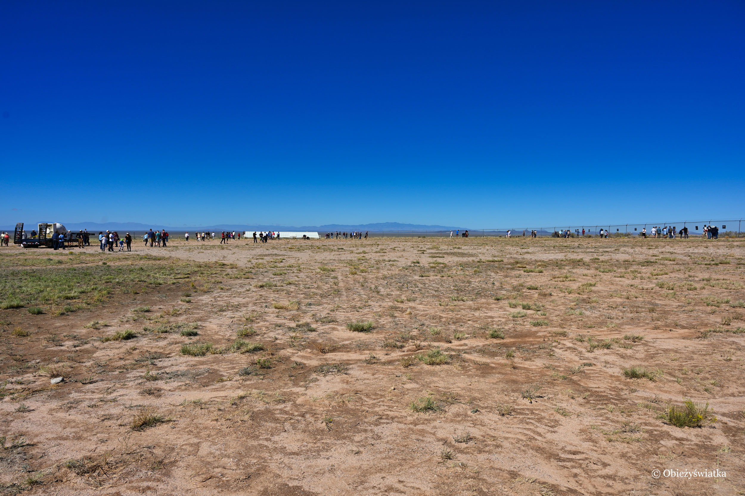 Ground 0, Trinity Test Site, Nowy Meksyk