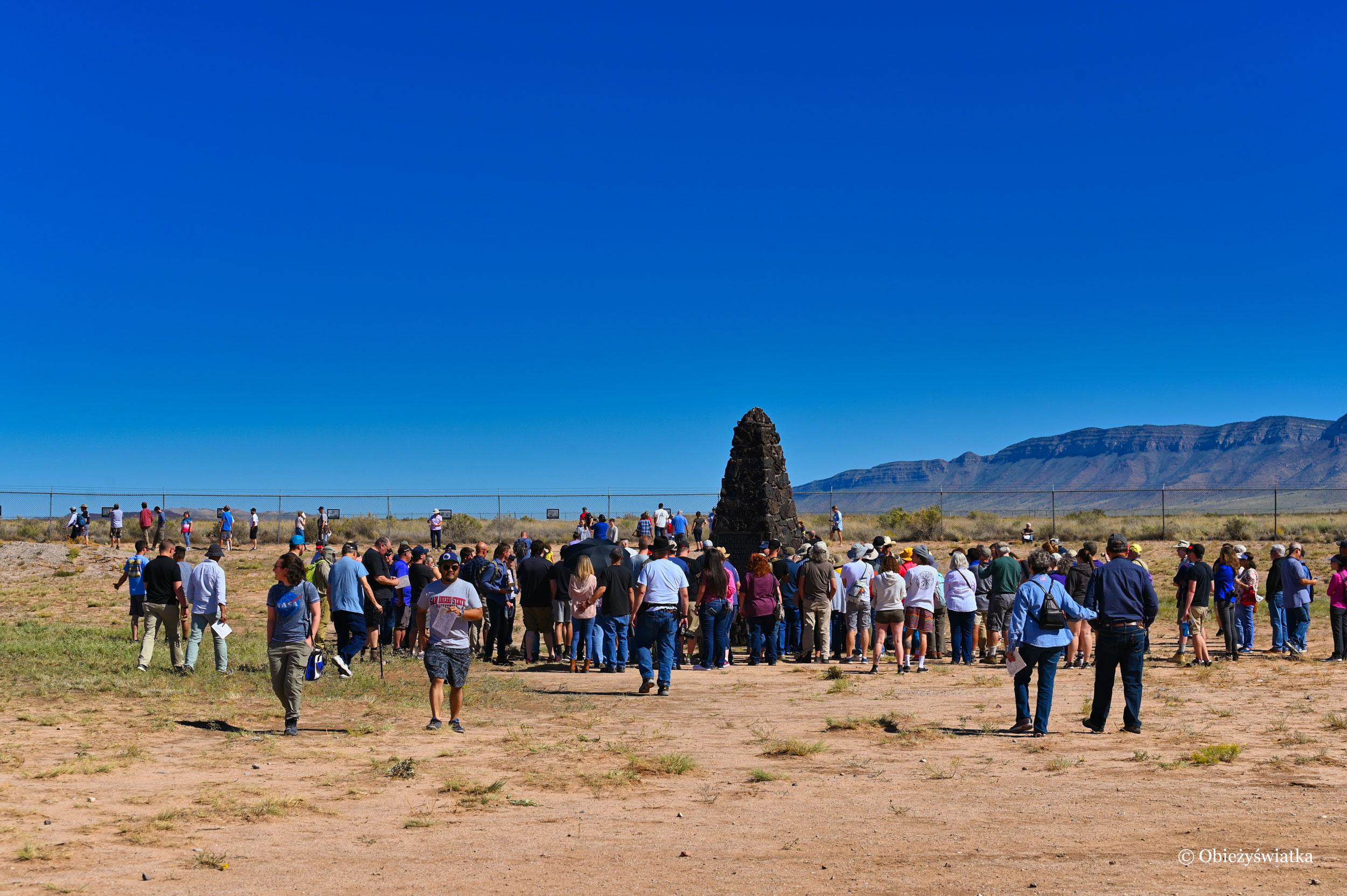 Trinity Test Site - pomnik