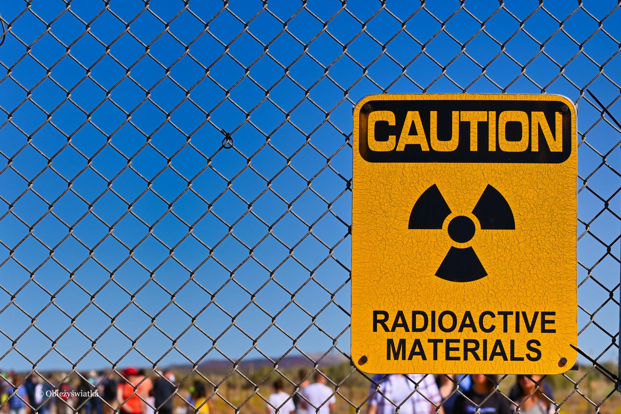 Uwaga na materiał radioaktywny, Trinity Test Site