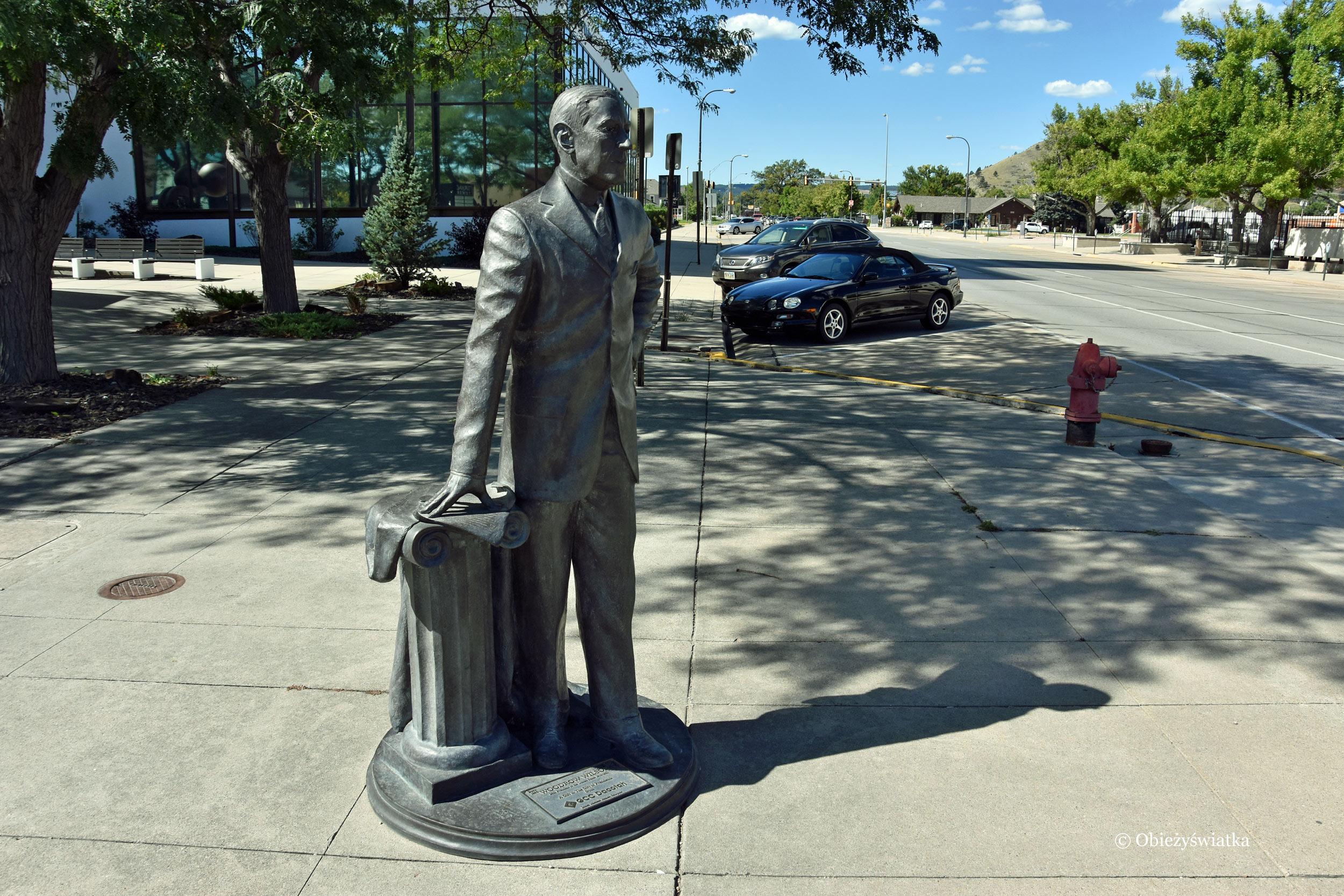 28. prezydent Woodrow Wilson