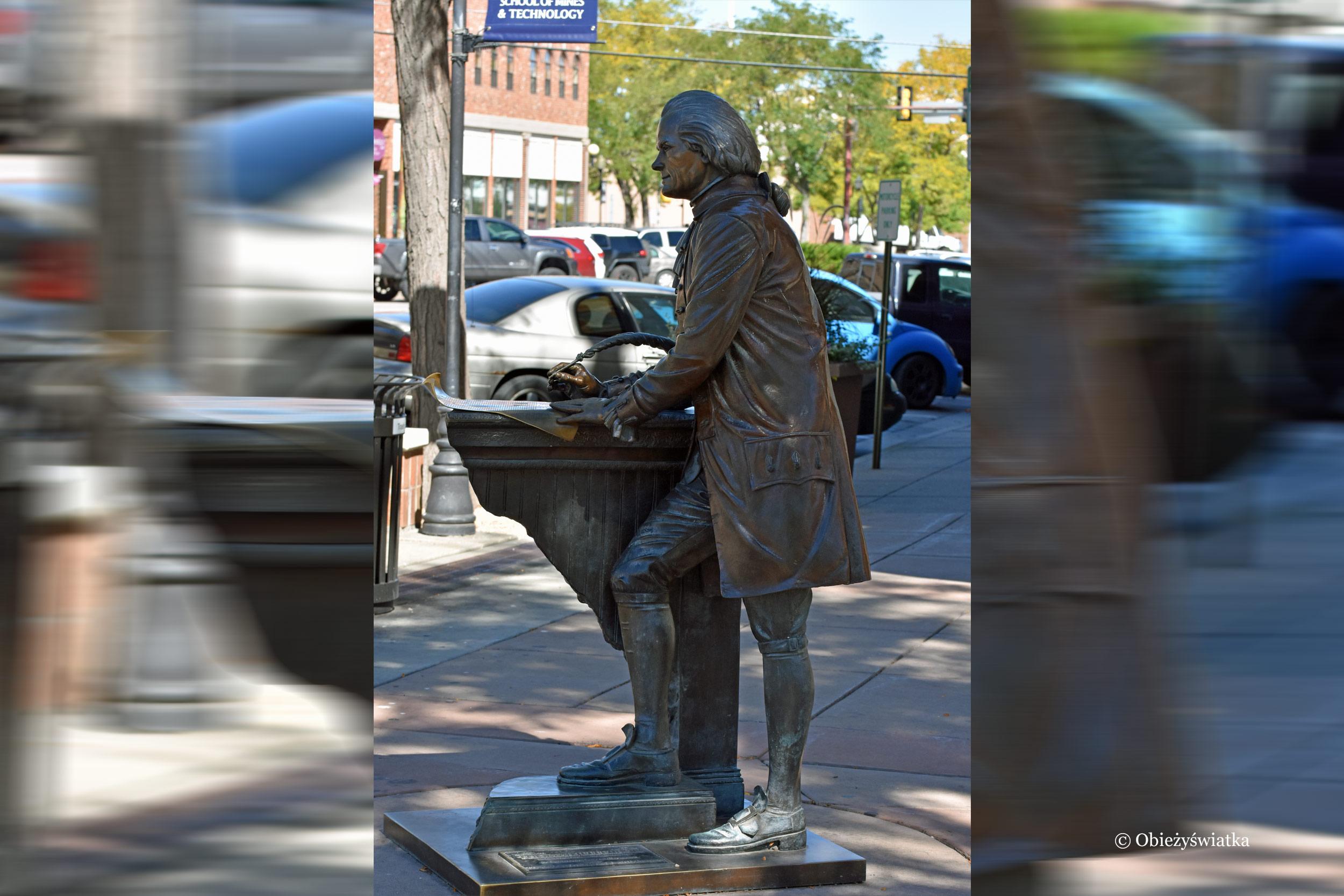 3. prezydent Thomas Jefferson