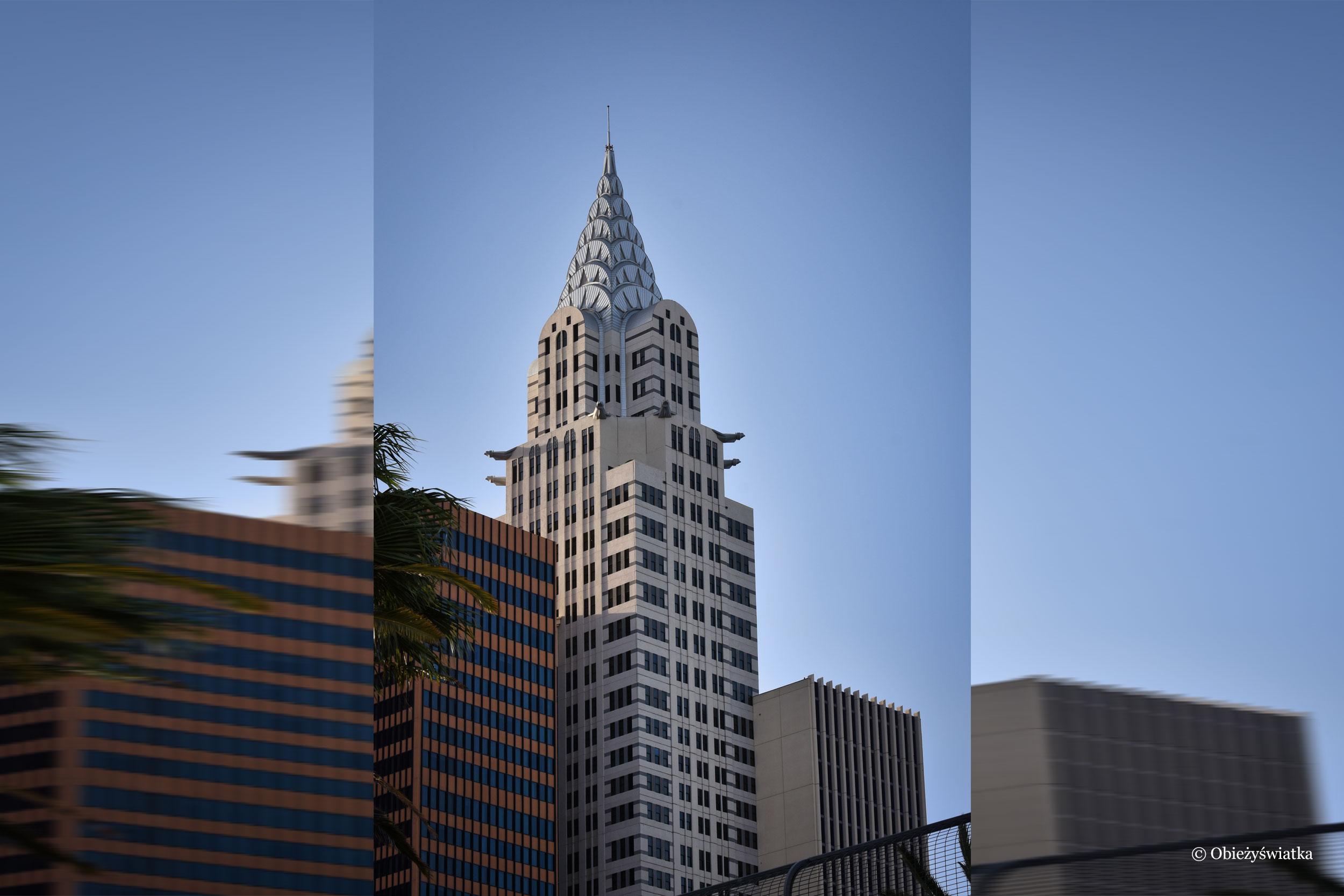 Chrysler Building jako replika w Las Vegas, Nevada
