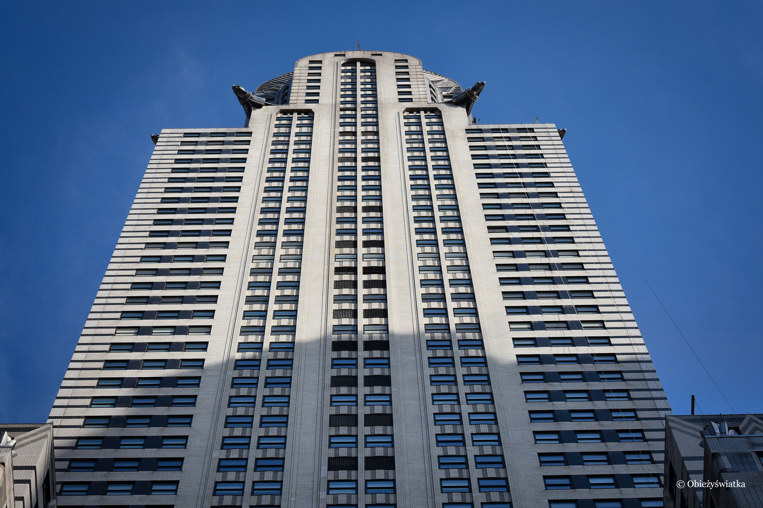 Chrysler Building i jego gargulce, Nowy Jork