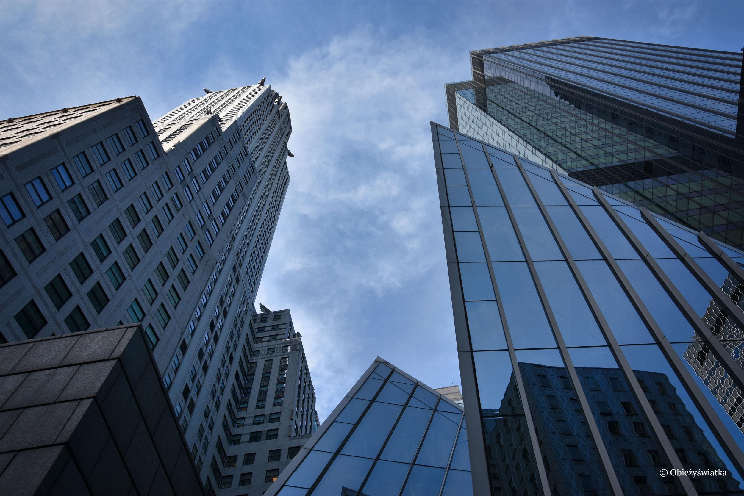 Wśród drapaczy chmur - Chrysler Building, Nowy Jork