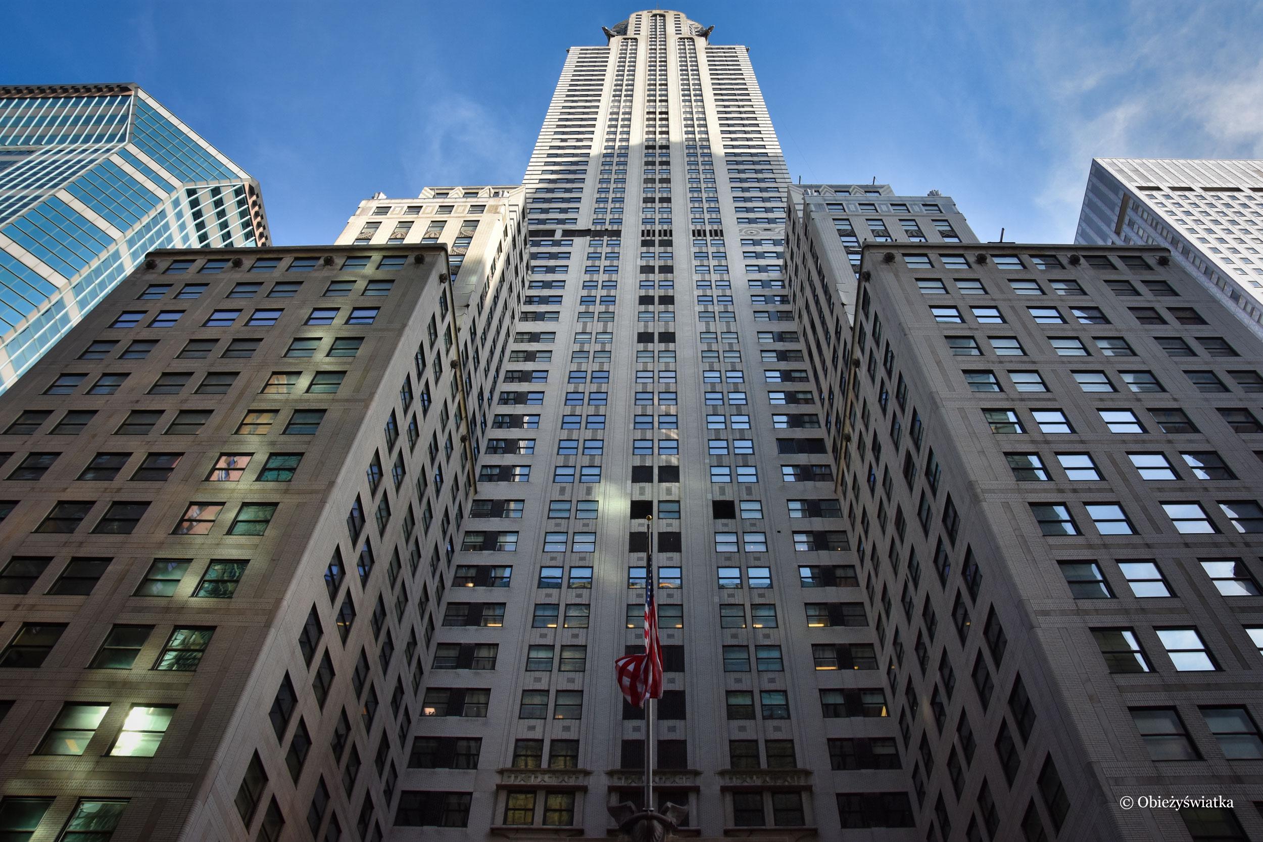 Nowojorski Chrysler Building, USA