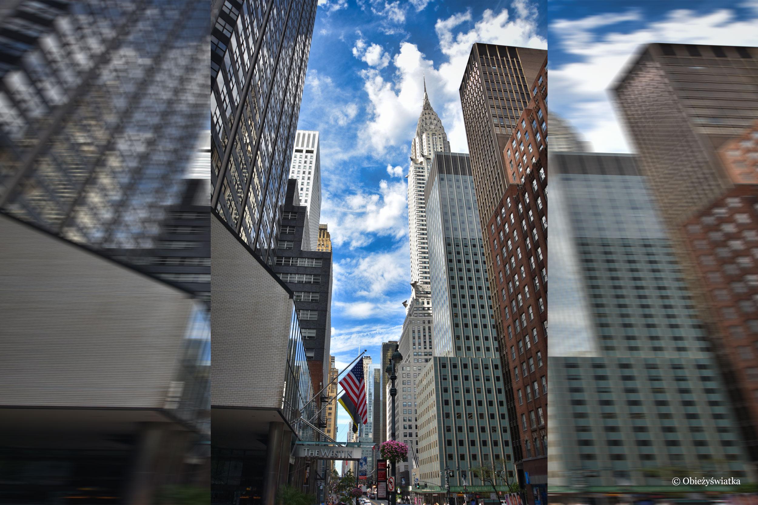 Chrysler Building i nowojorskie wieżowce, NYC