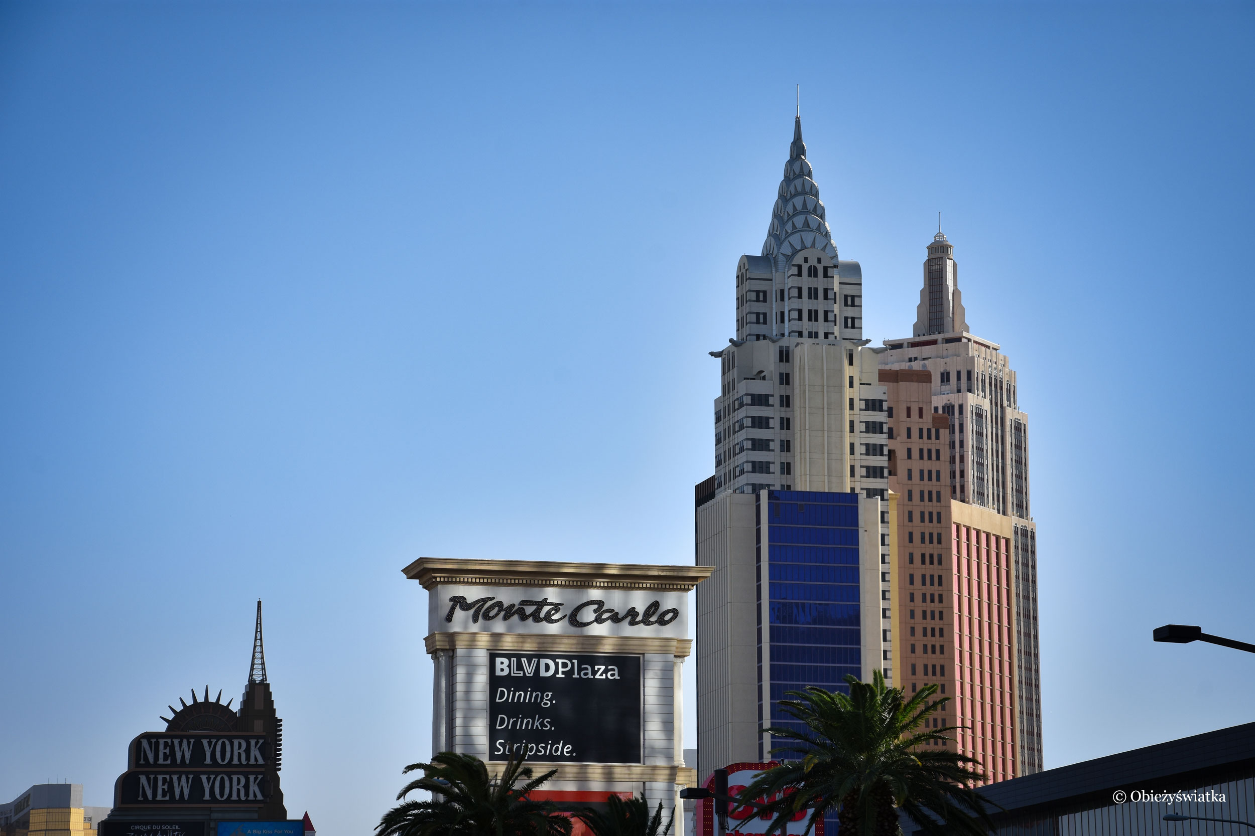 Las Vegas i replika Chrysler Building, Nevada