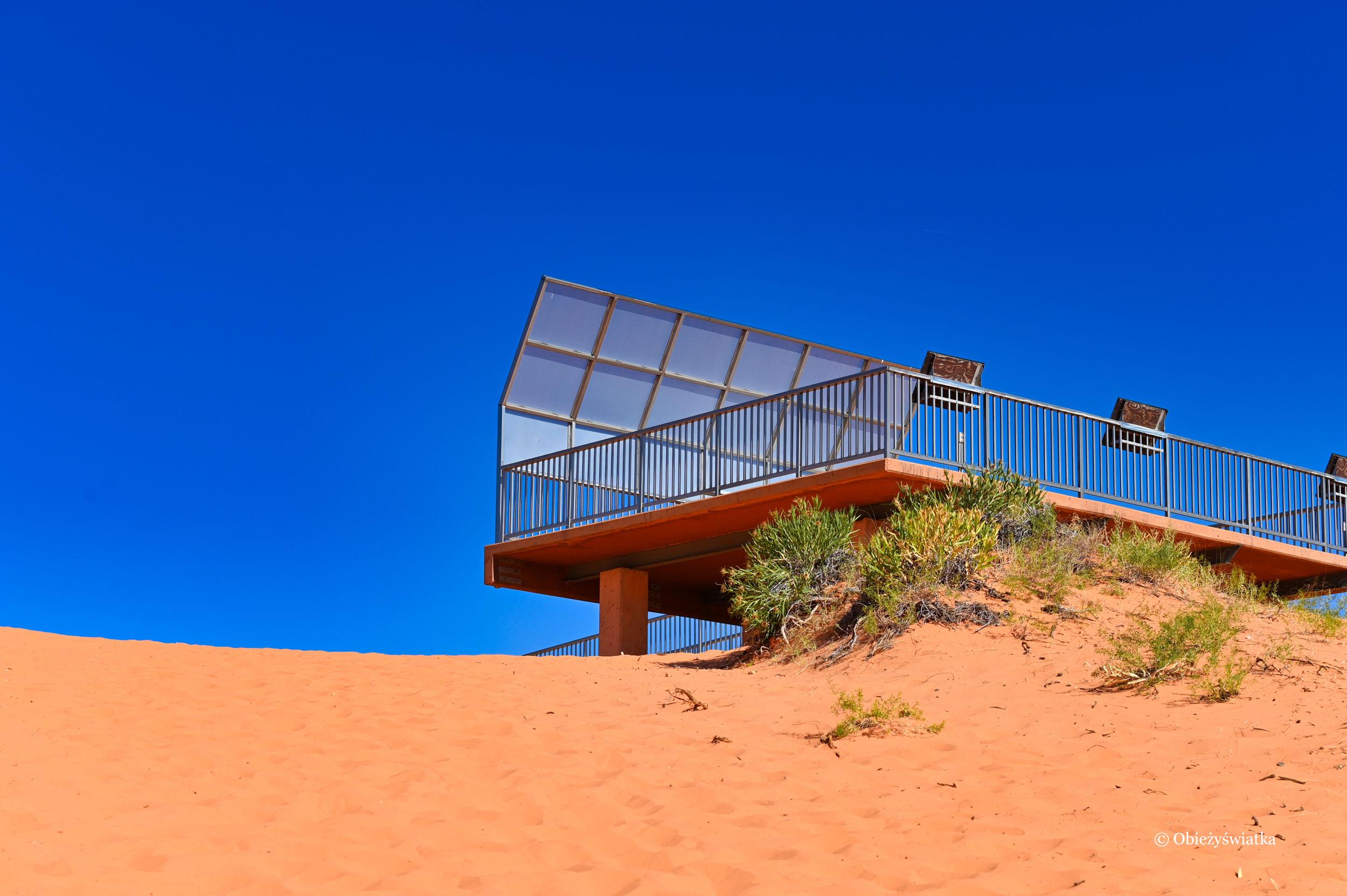 Coral Pink Sand Dunes State Park, Platforma widokowa, Utah