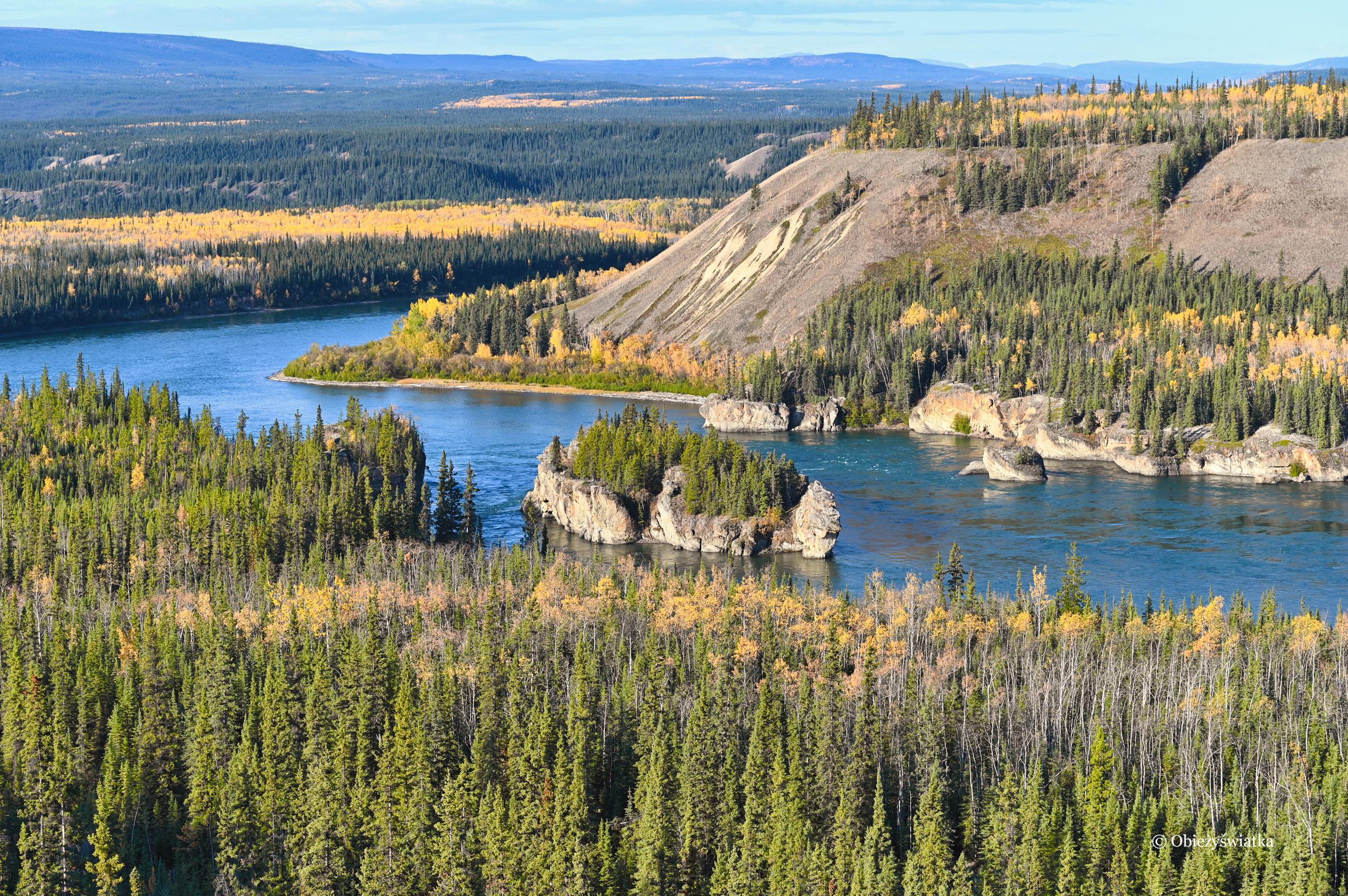 Five Finger Rapids, Yukon River, Canada