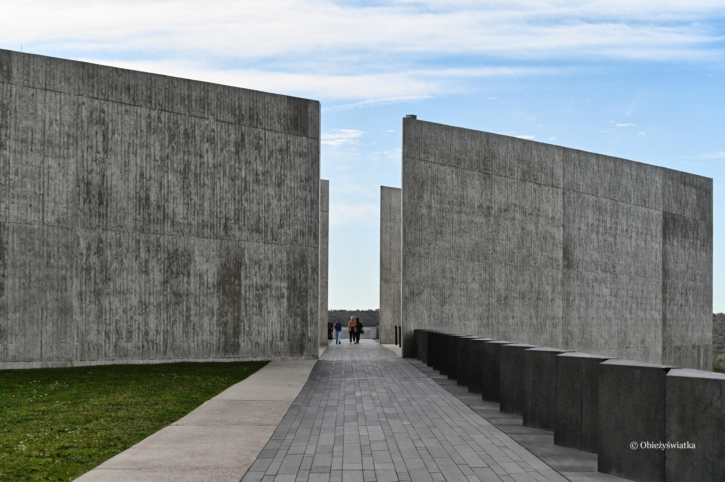 Muzeum, Miejsce Pamięci Flight 93 w Pensylwanii, USA