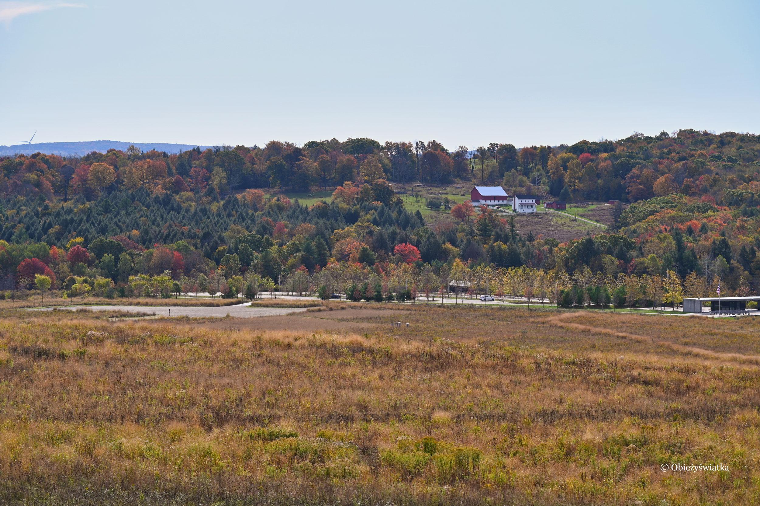 Na terenie Miejsca Pamięci Flight 93 National Memorial, Pensylwania