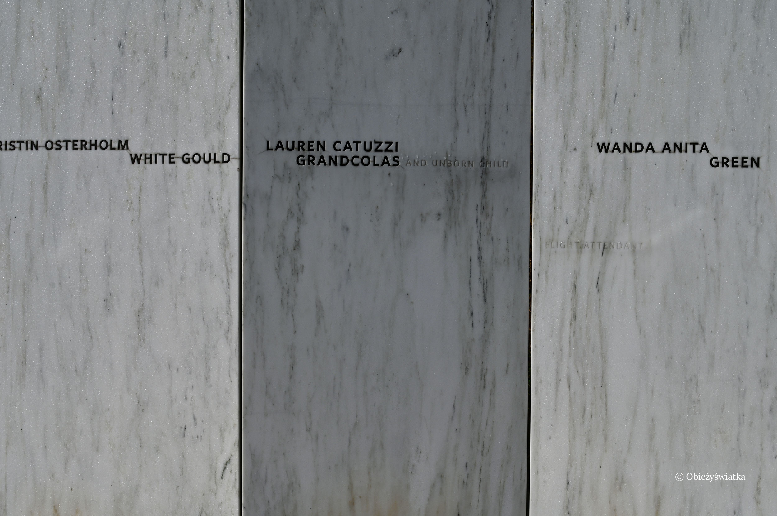 Wall of Names, Flight 93 National Memorial, Pennsylvania, USA